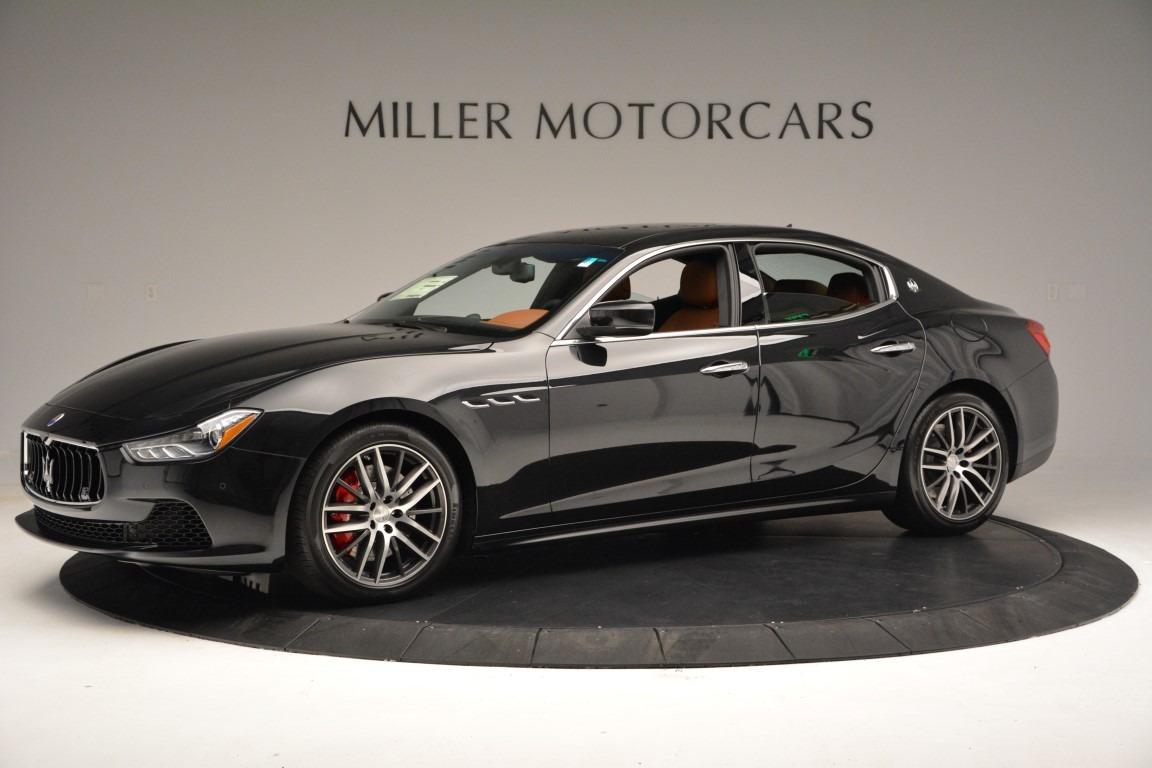 New 2017 Maserati Ghibli S Q4 For Sale In Greenwich, CT. Alfa Romeo of Greenwich, W360 726_p2