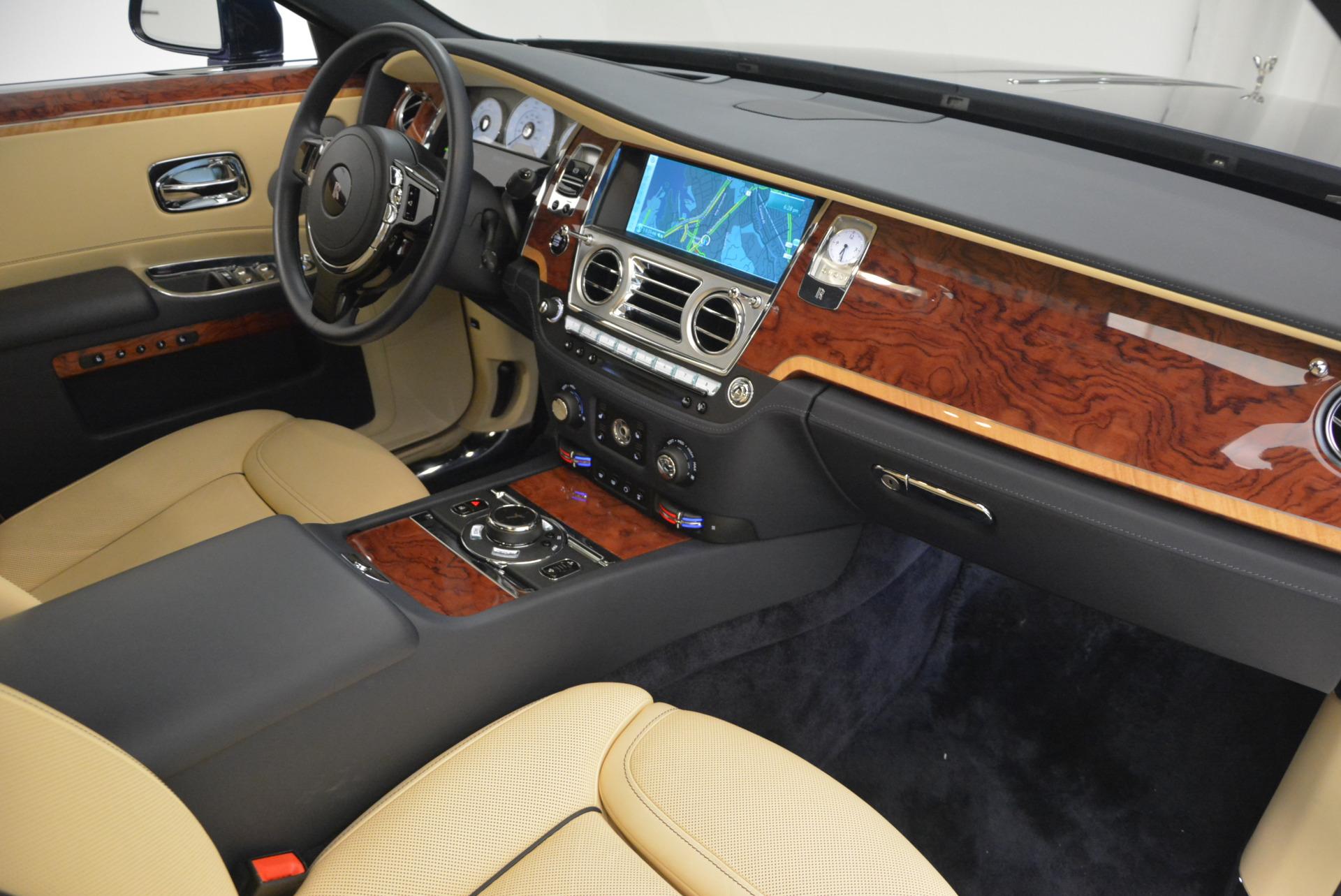 Used 2016 Rolls-Royce Ghost EWB For Sale In Greenwich, CT. Alfa Romeo of Greenwich, R396 746_p33