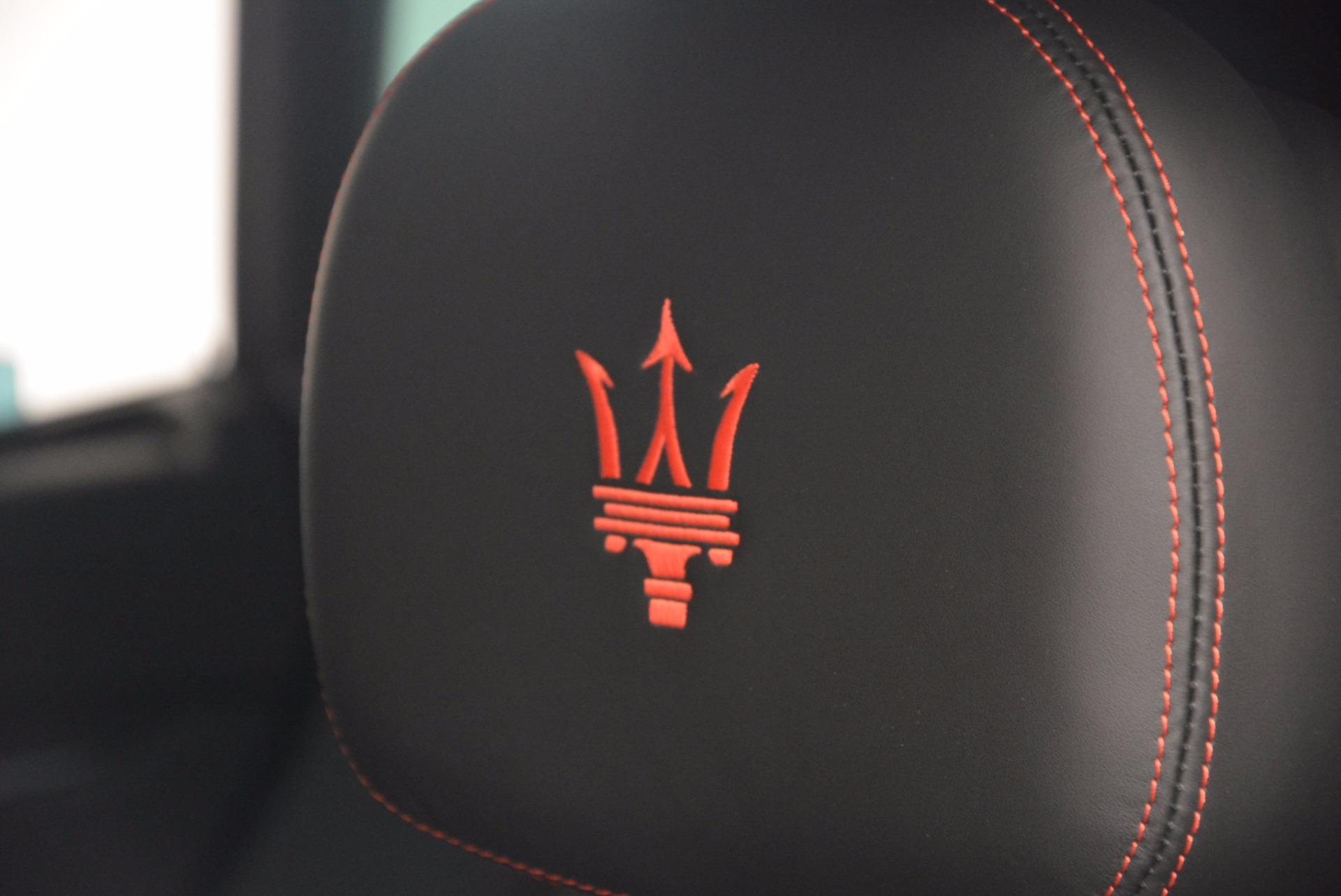 New 2017 Maserati Levante S For Sale In Greenwich, CT. Alfa Romeo of Greenwich, W356 747_p17