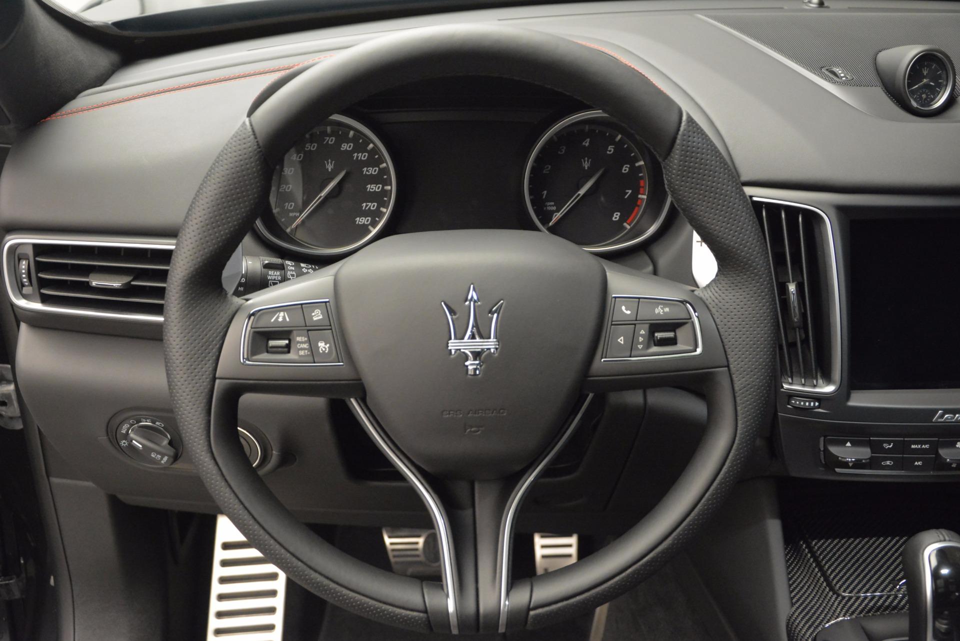 New 2017 Maserati Levante S For Sale In Greenwich, CT. Alfa Romeo of Greenwich, W356 747_p19