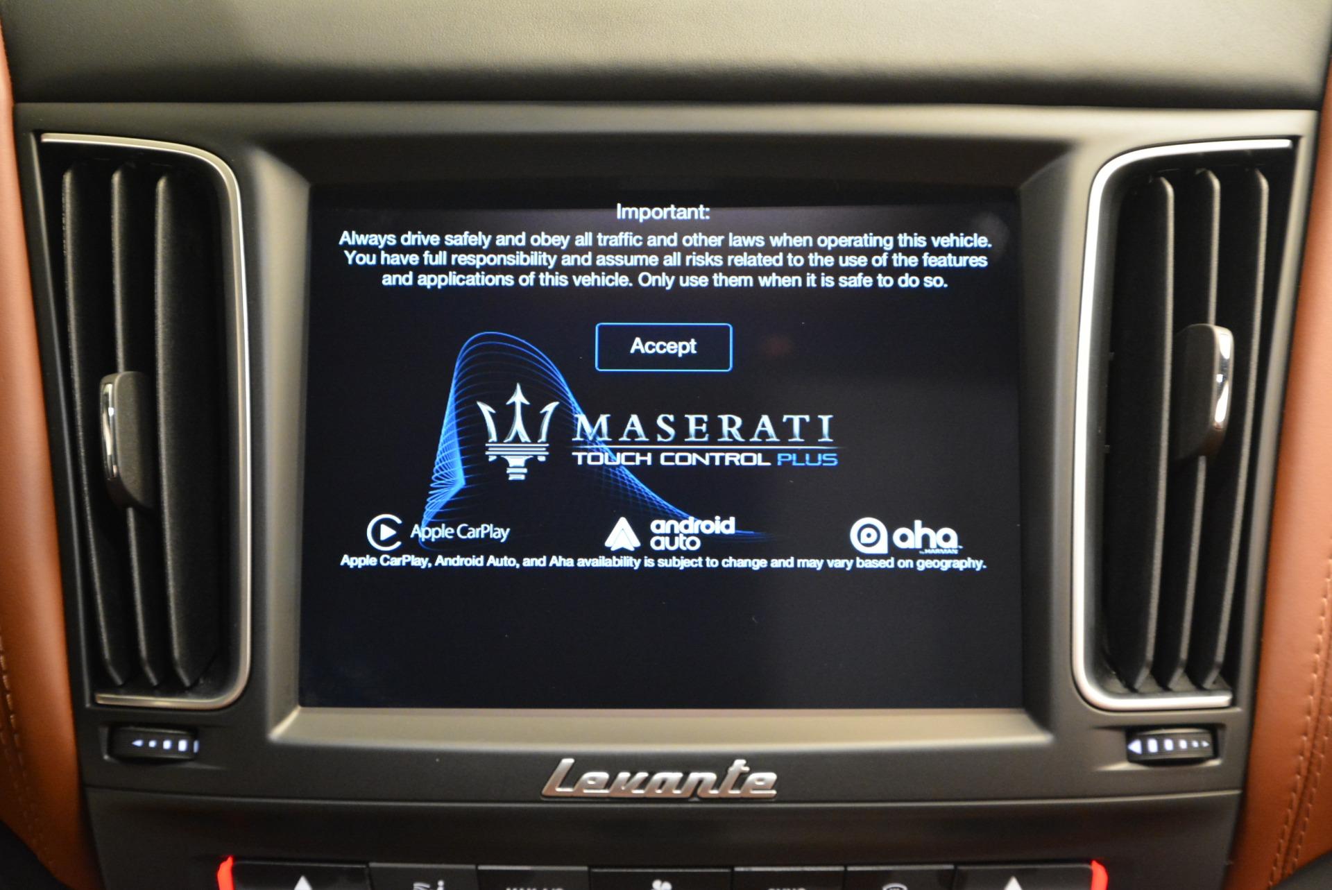 New 2017 Maserati Levante S For Sale In Greenwich, CT. Alfa Romeo of Greenwich, M1741 750_p27