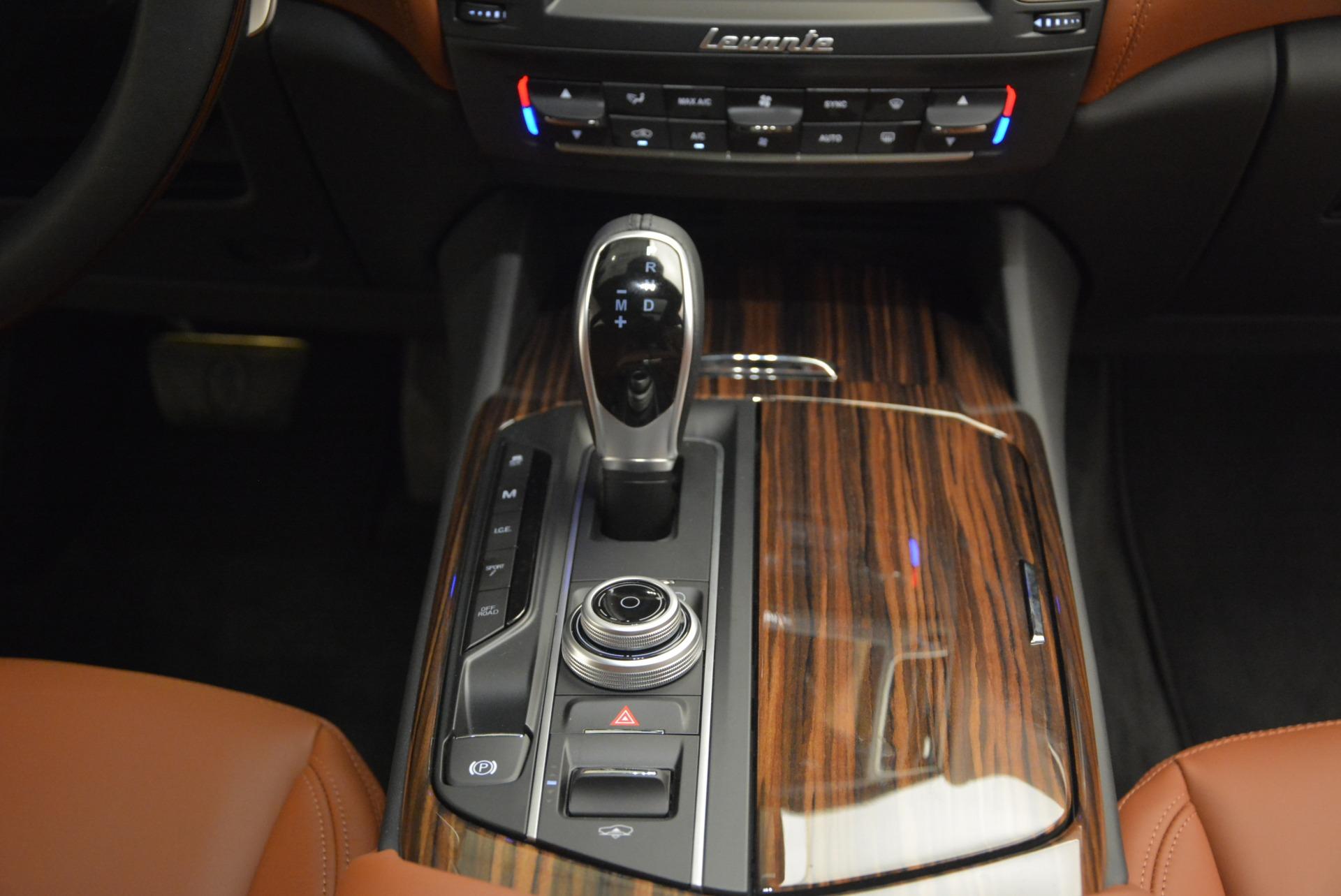 New 2017 Maserati Levante S For Sale In Greenwich, CT. Alfa Romeo of Greenwich, M1741 750_p28