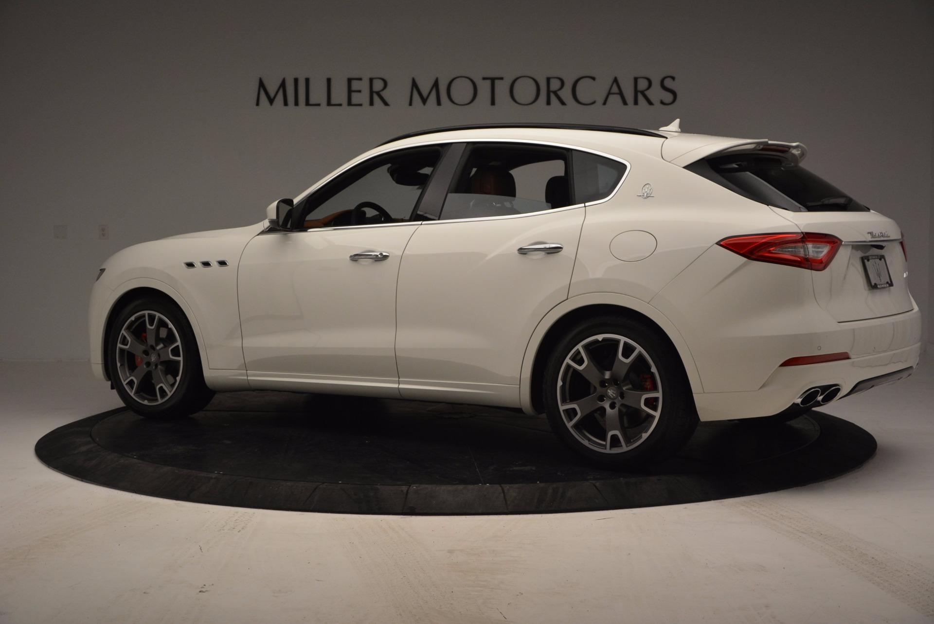 New 2017 Maserati Levante  For Sale In Greenwich, CT. Alfa Romeo of Greenwich, M1726 762_p4