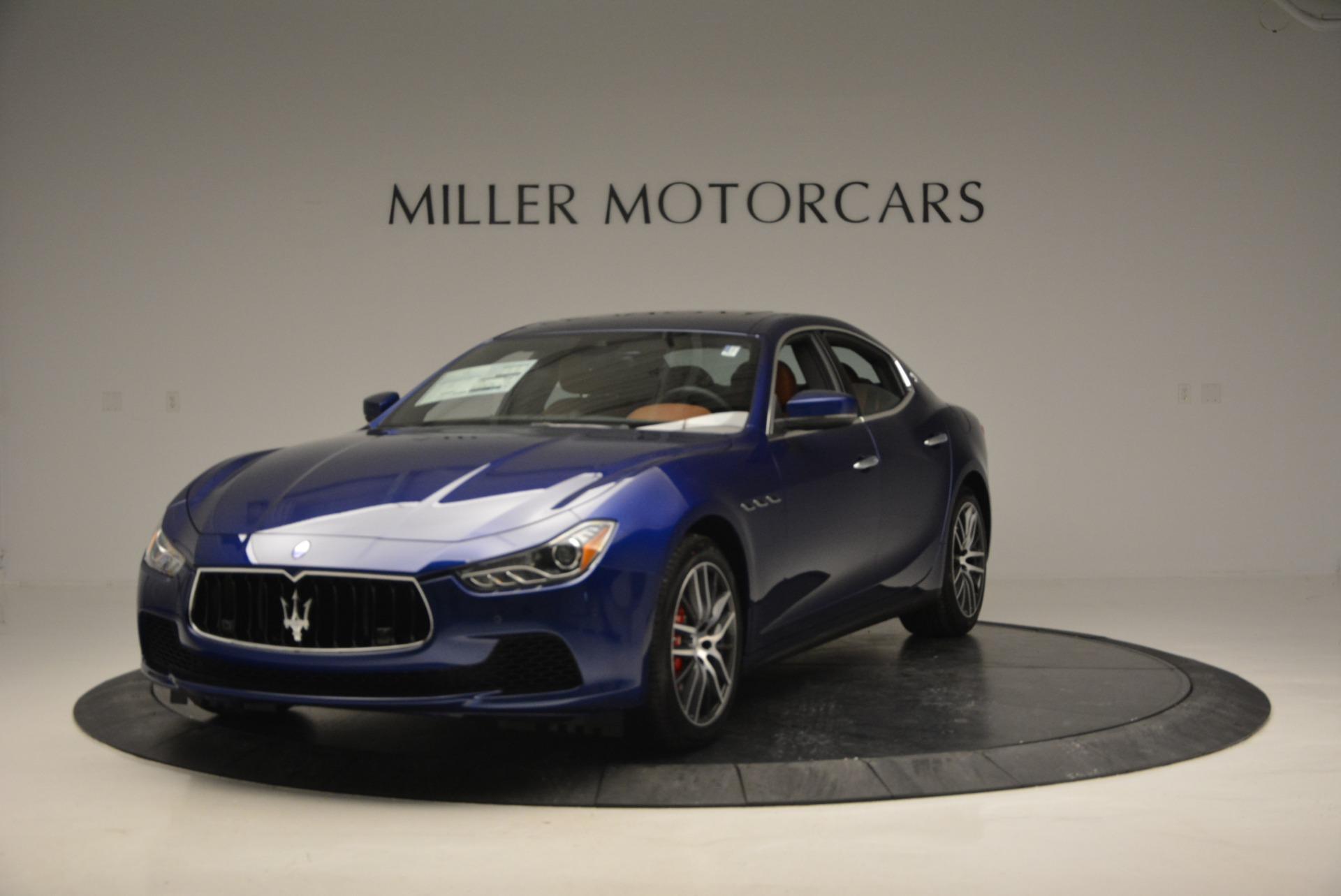 New 2017 Maserati Ghibli S Q4 For Sale In Greenwich, CT. Alfa Romeo of Greenwich, M1748 767_main