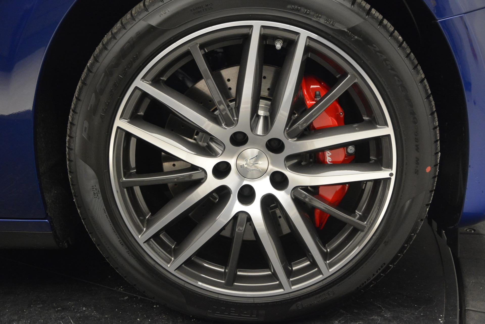 New 2017 Maserati Ghibli S Q4 For Sale In Greenwich, CT. Alfa Romeo of Greenwich, M1748 767_p27