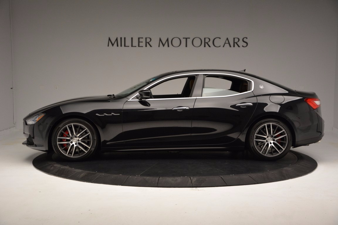 New 2017 Maserati Ghibli S Q4 For Sale In Greenwich, CT. Alfa Romeo of Greenwich, W374 769_p3