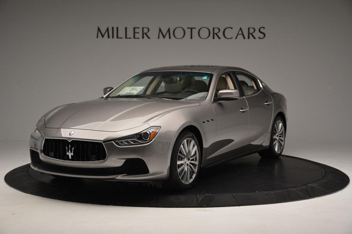 New 2017 Maserati Ghibli S Q4 For Sale In Greenwich, CT. Alfa Romeo of Greenwich, W379 779_main