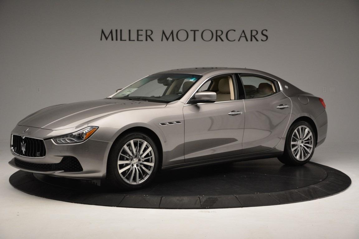 New 2017 Maserati Ghibli S Q4 For Sale In Greenwich, CT. Alfa Romeo of Greenwich, W379 779_p2
