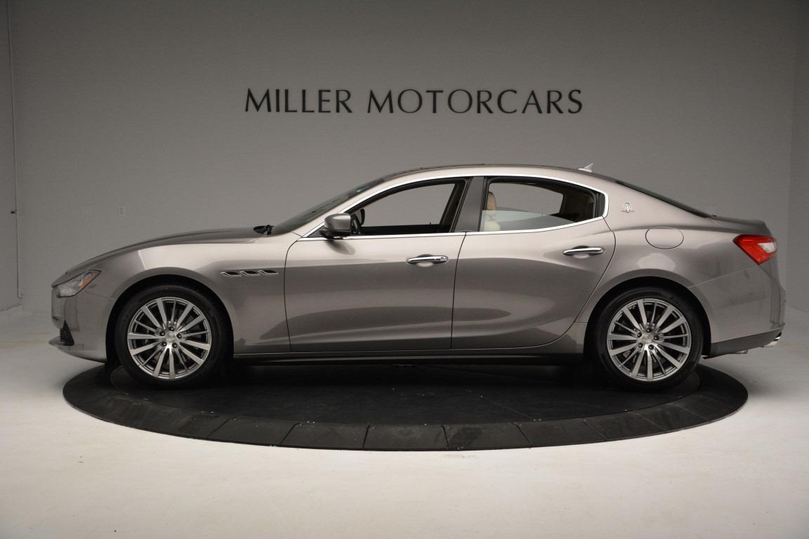 New 2017 Maserati Ghibli S Q4 For Sale In Greenwich, CT. Alfa Romeo of Greenwich, W379 779_p3