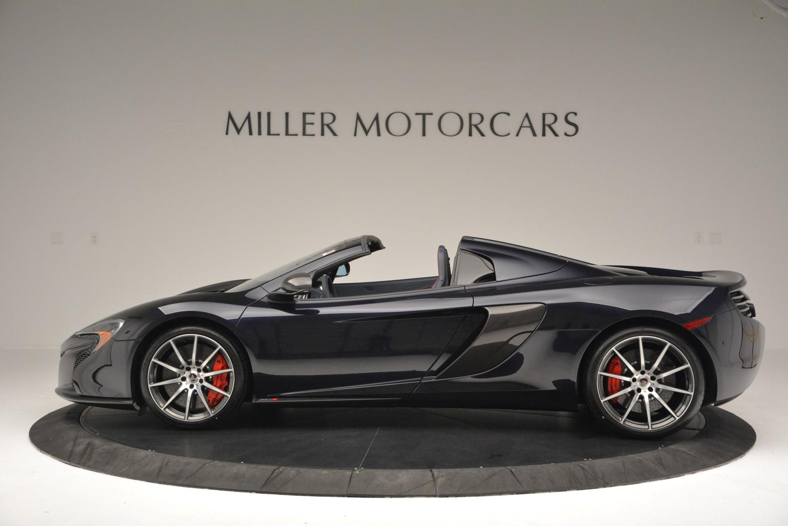 New 2016 McLaren 650S Spider  For Sale In Greenwich, CT. Alfa Romeo of Greenwich, MC217 78_p3