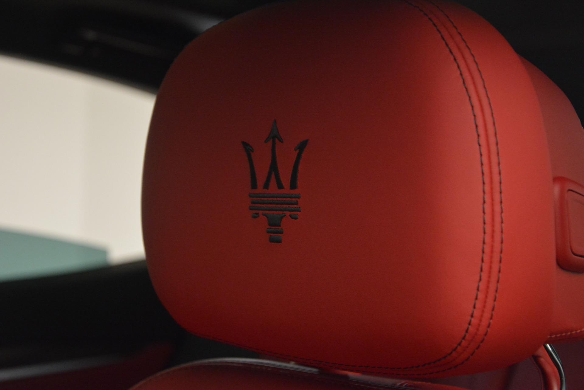 New 2017 Maserati Levante S For Sale In Greenwich, CT. Alfa Romeo of Greenwich, M1757 782_p18