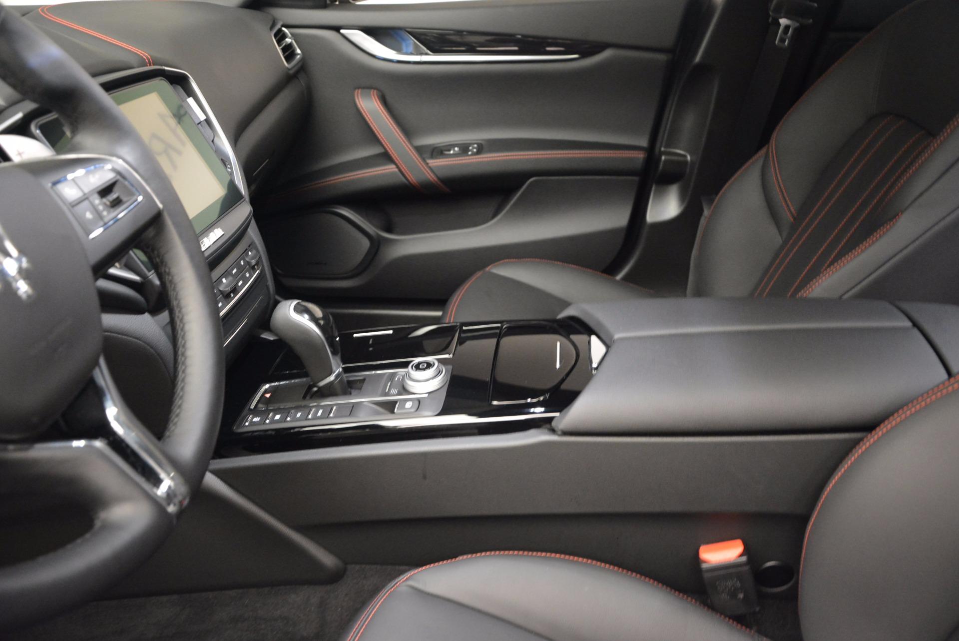 Used 2017 Maserati Ghibli S Q4 Ex-Loaner For Sale In Greenwich, CT. Alfa Romeo of Greenwich, M1756 783_p14