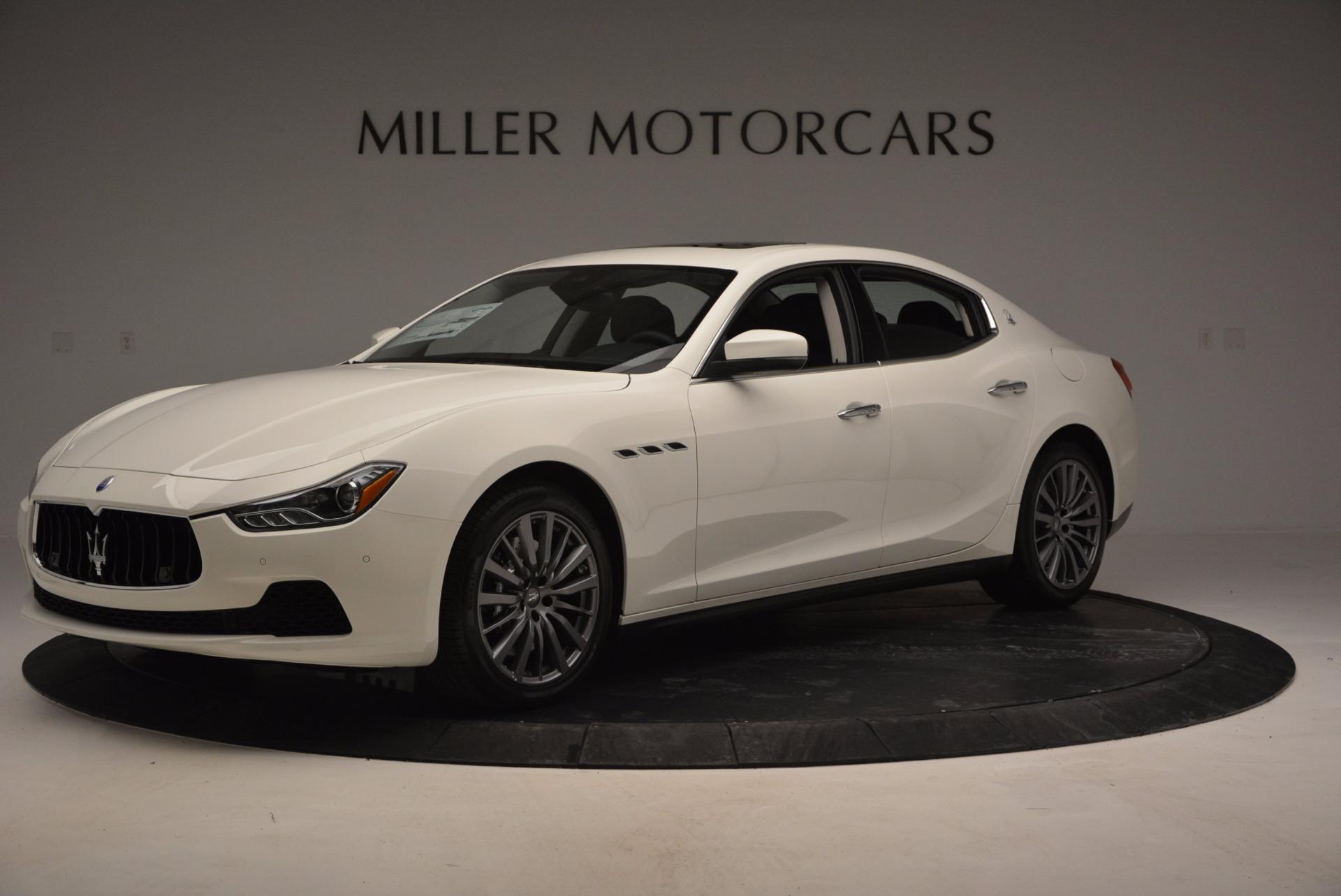 Used 2017 Maserati Ghibli S Q4 Ex-Loaner For Sale In Greenwich, CT. Alfa Romeo of Greenwich, M1756 783_p2