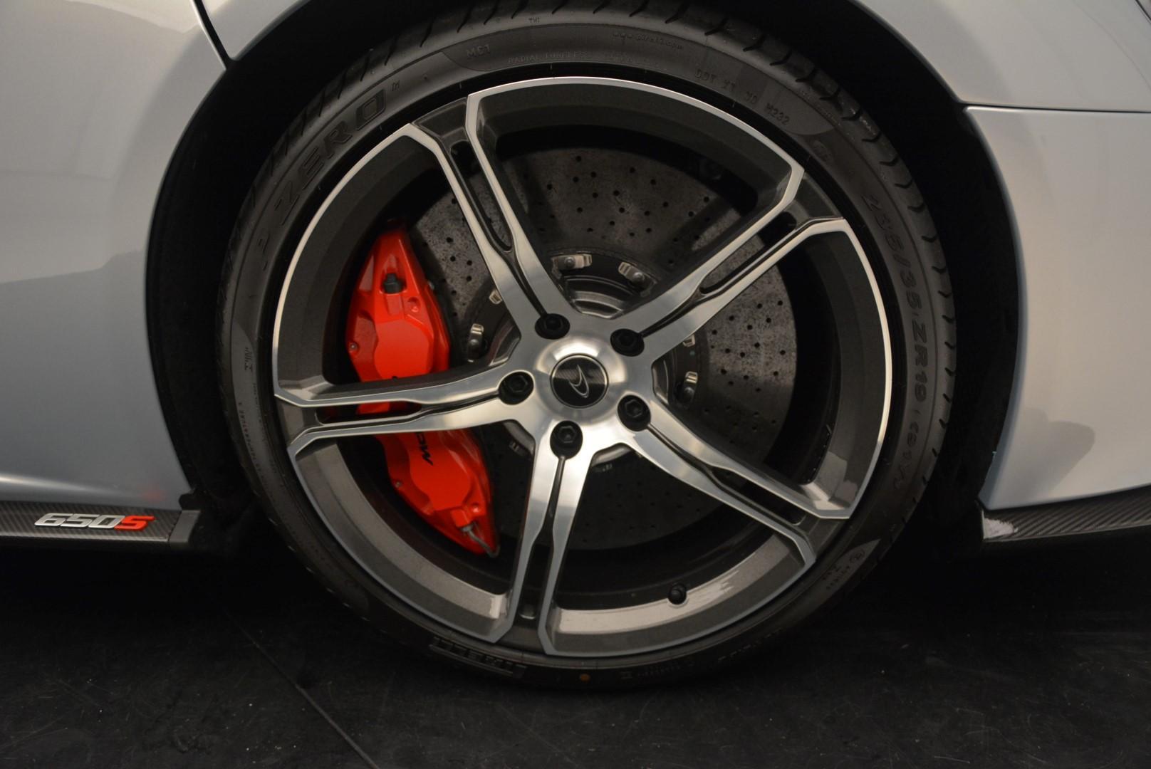 New 2016 McLaren 650S Spider  For Sale In Greenwich, CT. Alfa Romeo of Greenwich, MC257 79_p31