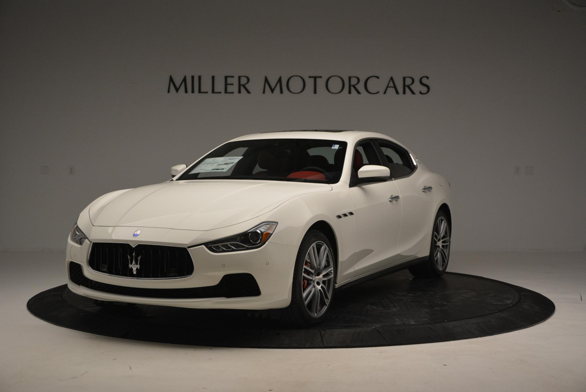 New 2017 Maserati Ghibli S Q4 For Sale In Greenwich, CT. Alfa Romeo of Greenwich, W387 792_main