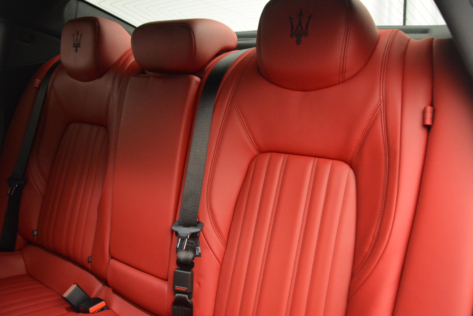 New 2017 Maserati Ghibli S Q4 For Sale In Greenwich, CT. Alfa Romeo of Greenwich, W387 792_p19
