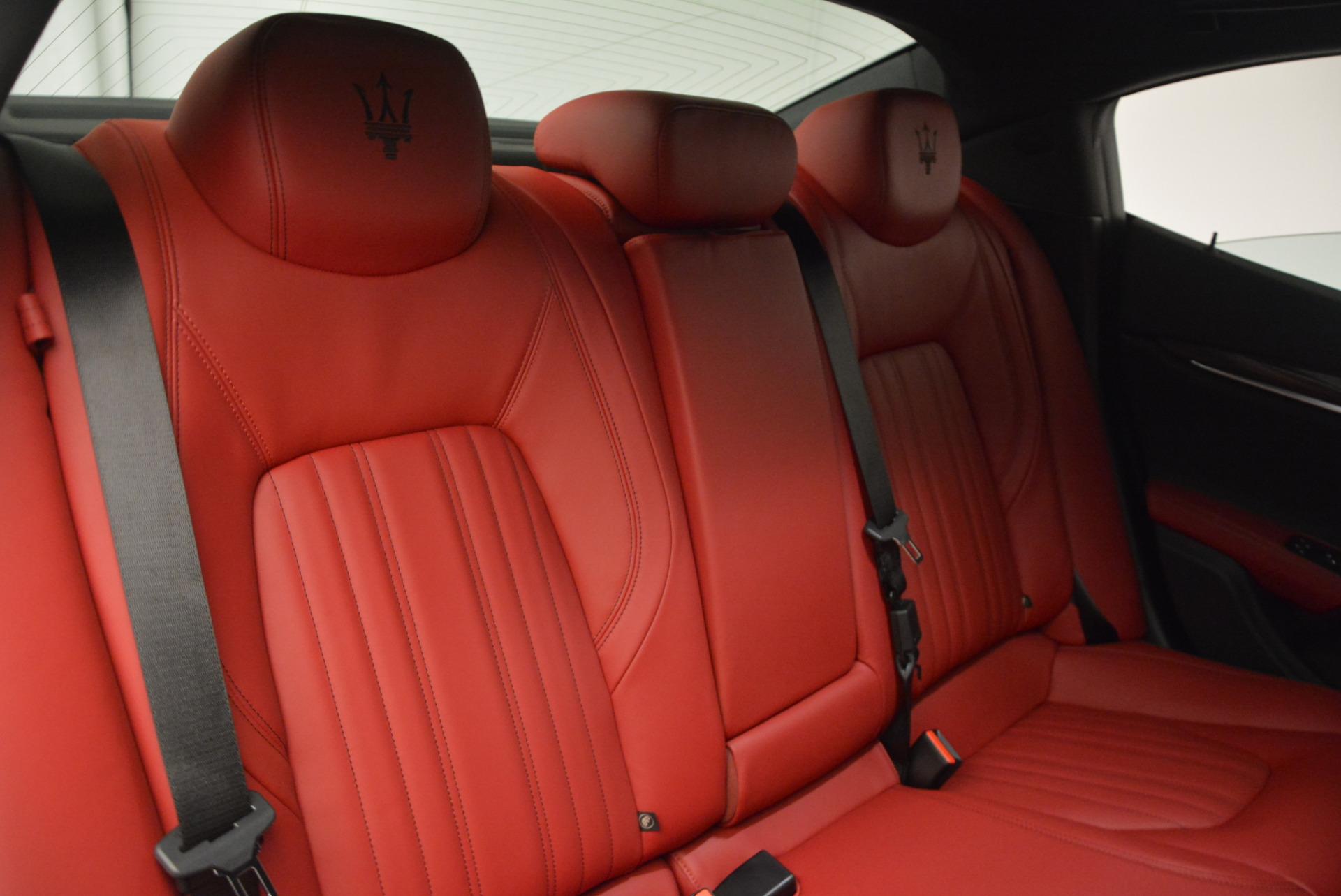 New 2017 Maserati Ghibli S Q4 For Sale In Greenwich, CT. Alfa Romeo of Greenwich, W387 792_p25