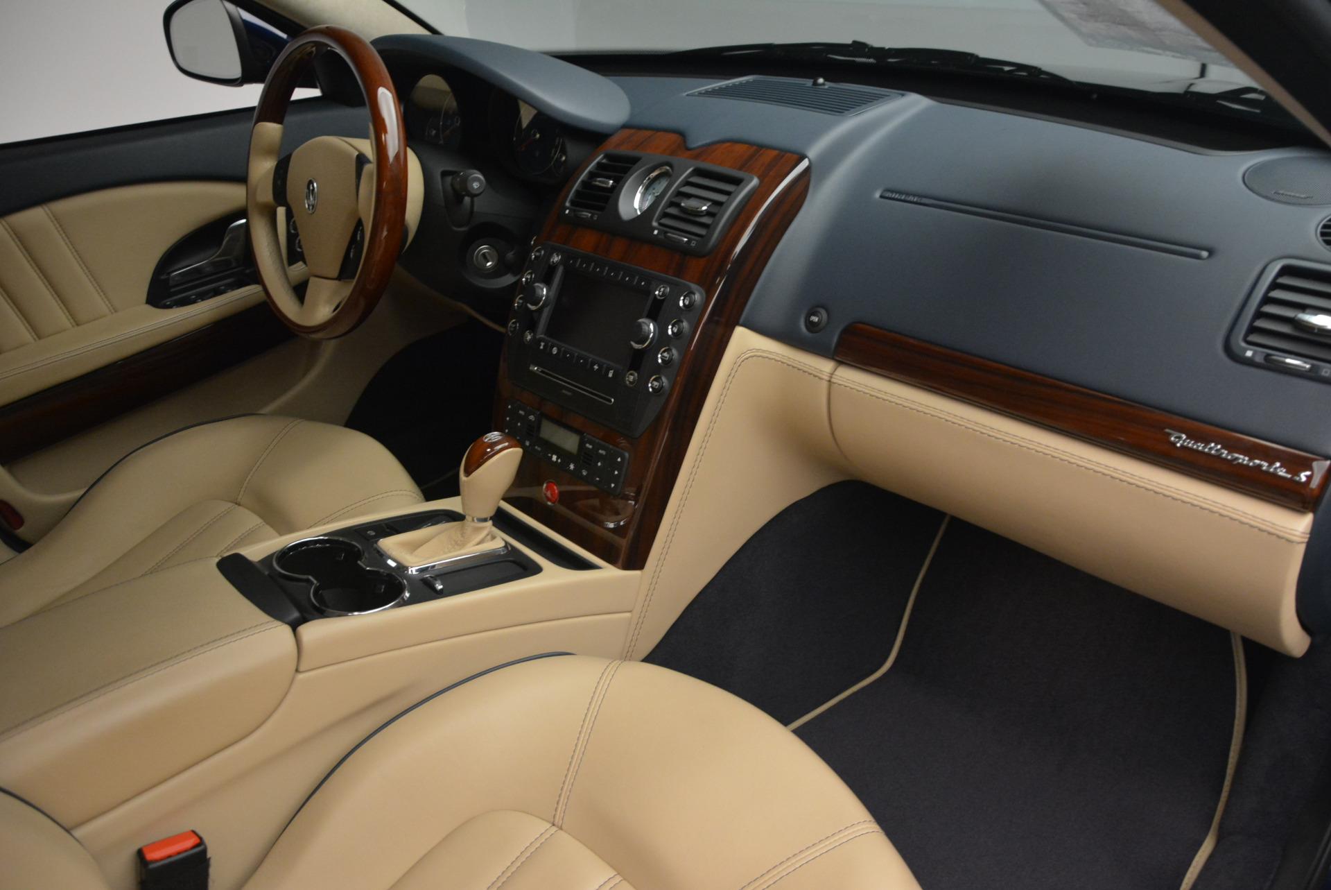 Used 2010 Maserati Quattroporte S For Sale In Greenwich, CT. Alfa Romeo of Greenwich, 1267 795_p19