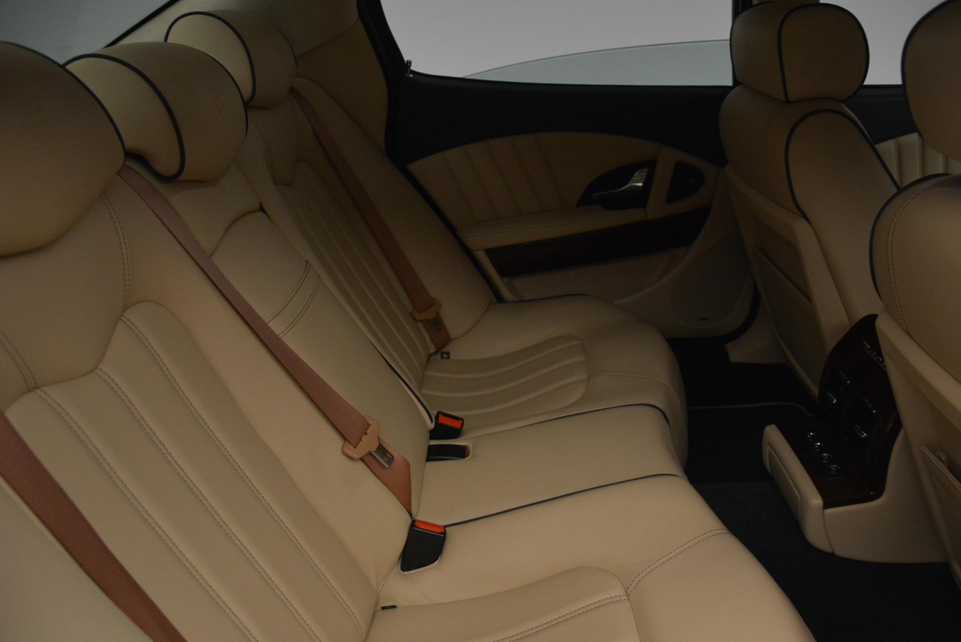 Used 2010 Maserati Quattroporte S For Sale In Greenwich, CT. Alfa Romeo of Greenwich, 1267 795_p21