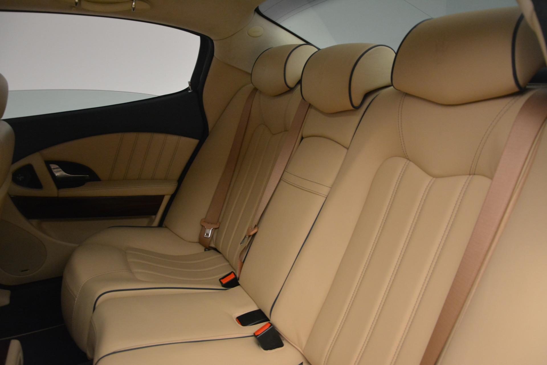 Used 2010 Maserati Quattroporte S For Sale In Greenwich, CT. Alfa Romeo of Greenwich, 1267 795_p23