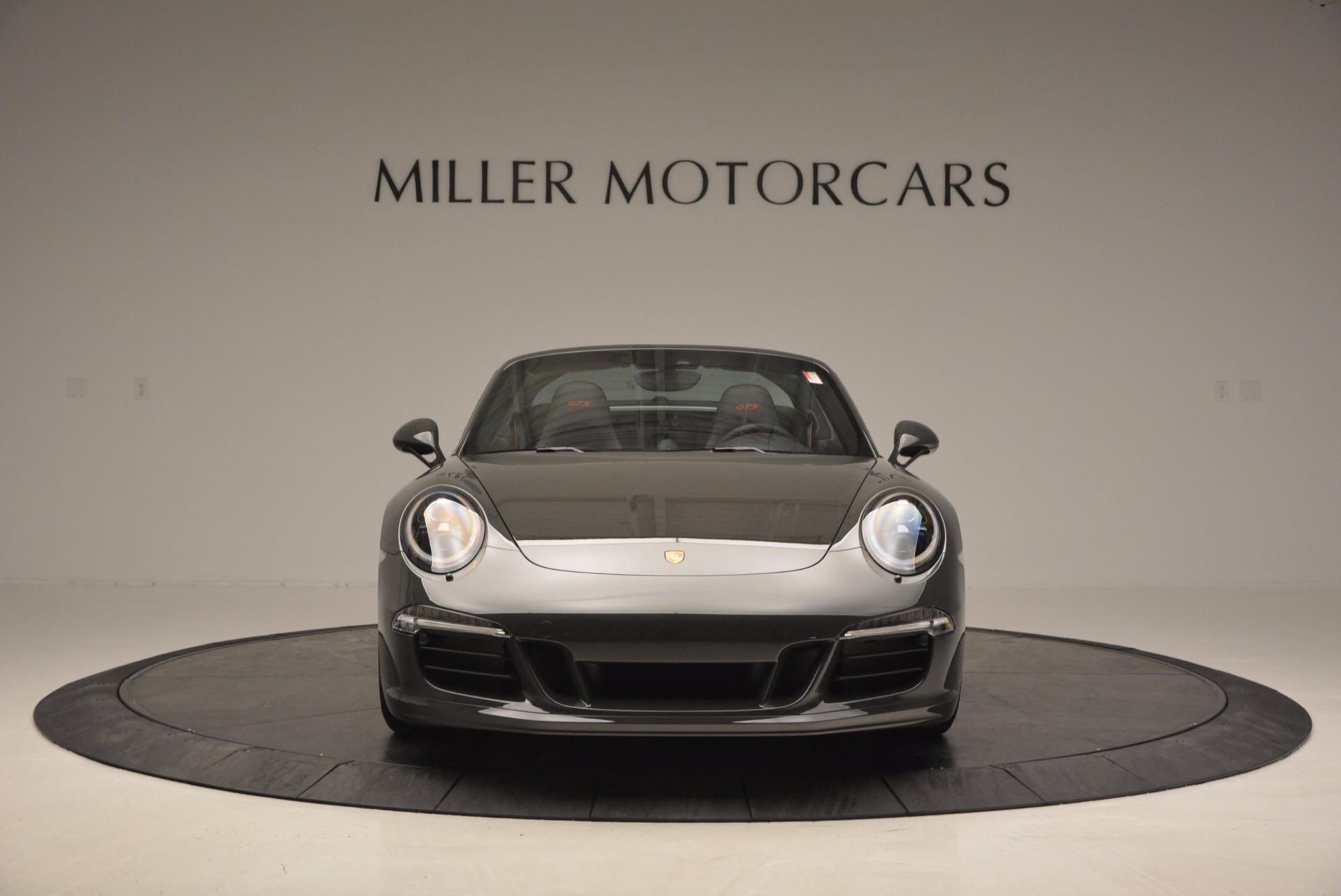 Used 2016 Porsche 911 Targa 4 GTS For Sale In Greenwich, CT. Alfa Romeo of Greenwich, MC289A 799_p12