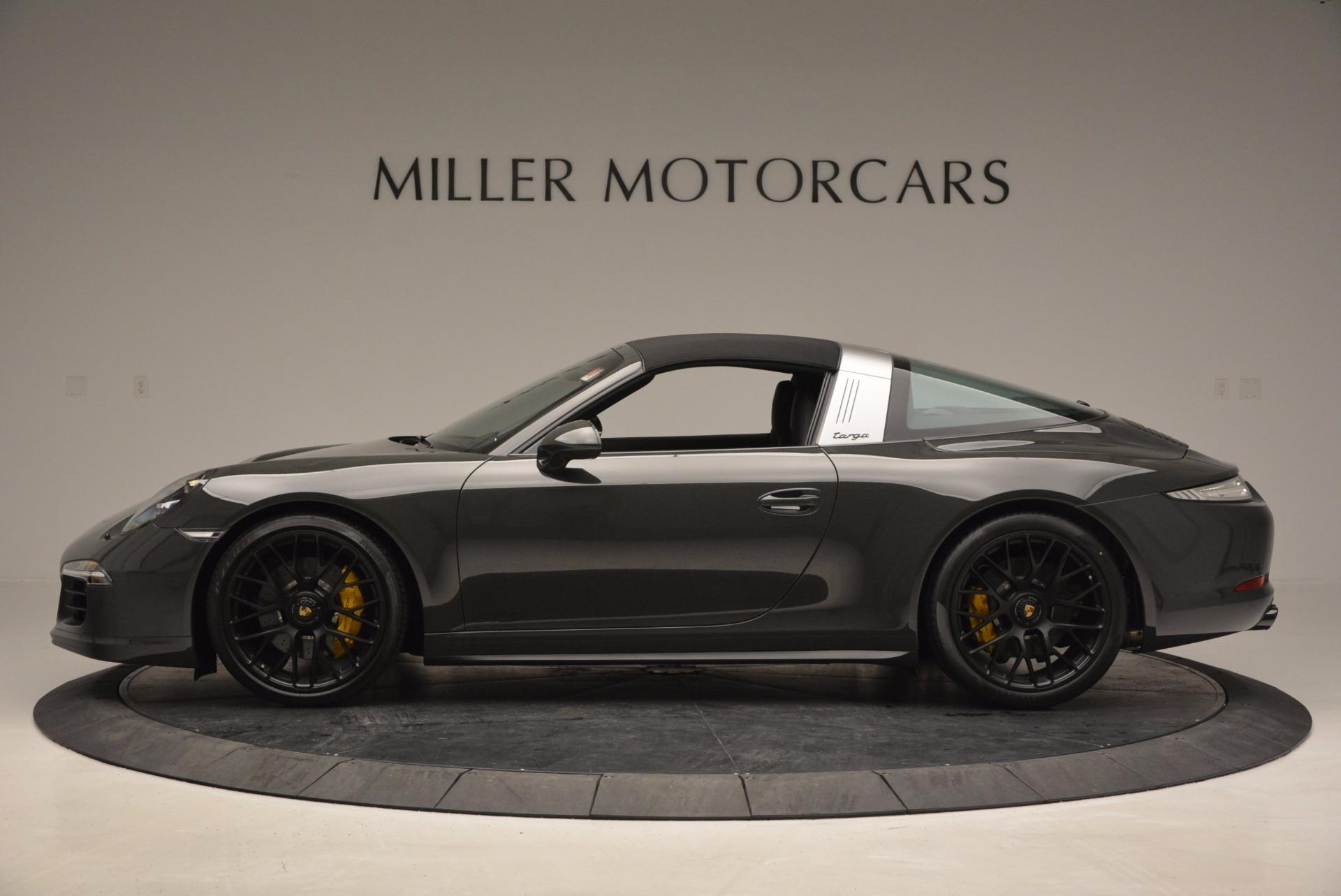 Used 2016 Porsche 911 Targa 4 GTS For Sale In Greenwich, CT. Alfa Romeo of Greenwich, MC289A 799_p14