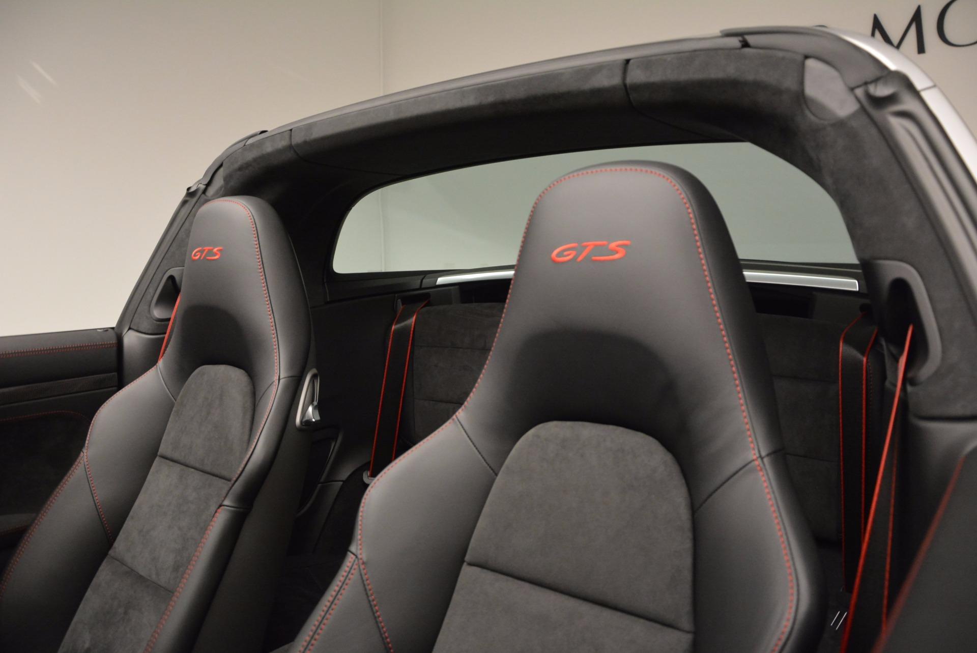 Used 2016 Porsche 911 Targa 4 GTS For Sale In Greenwich, CT. Alfa Romeo of Greenwich, MC289A 799_p26