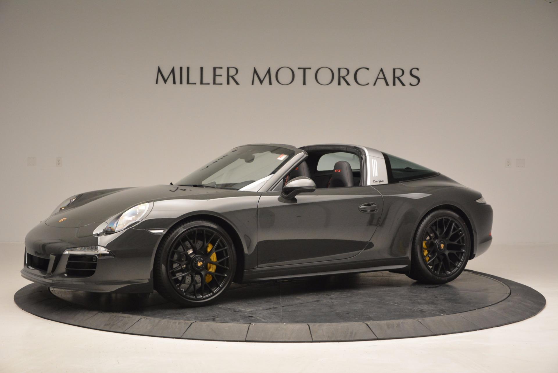 Used 2016 Porsche 911 Targa 4 GTS For Sale In Greenwich, CT. Alfa Romeo of Greenwich, MC289A 799_p2
