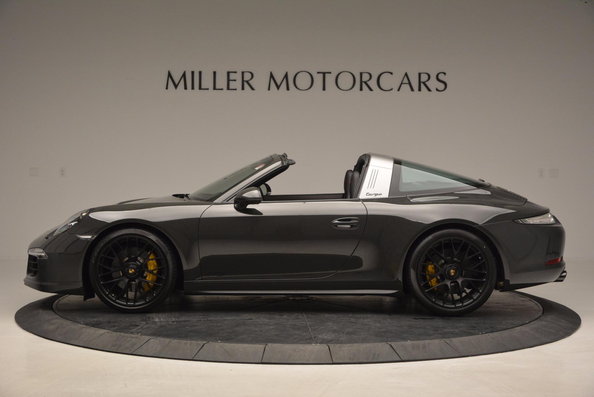 Used 2016 Porsche 911 Targa 4 GTS For Sale In Greenwich, CT. Alfa Romeo of Greenwich, MC289A 799_p3