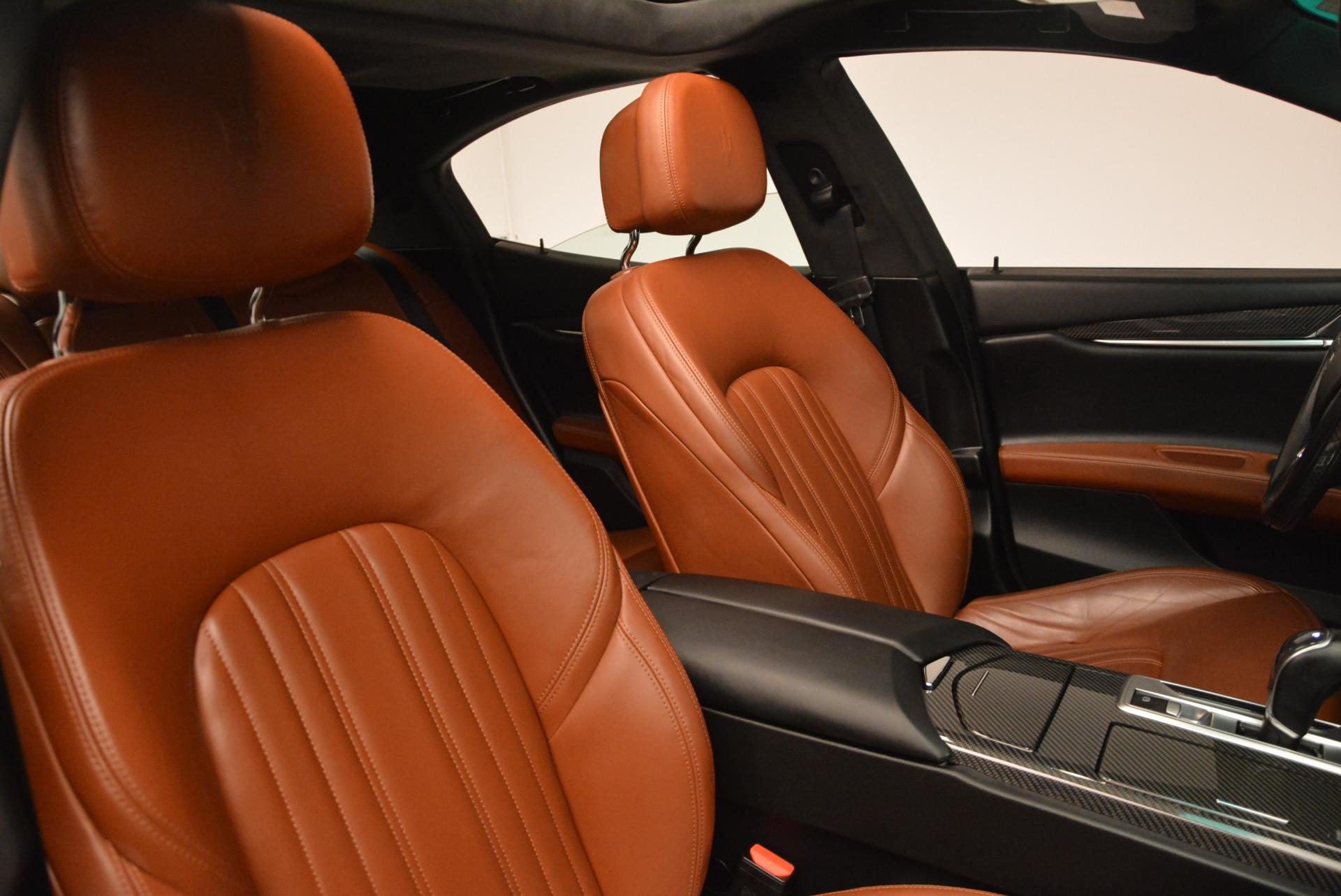 Used 2014 Maserati Ghibli S Q4 For Sale In Greenwich, CT. Alfa Romeo of Greenwich, 7132 805_p22
