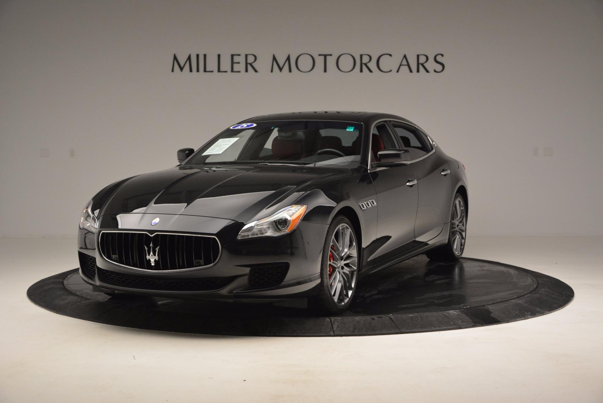 Used 2015 Maserati Quattroporte S Q4 For Sale In Greenwich, CT. Alfa Romeo of Greenwich, M1458A 809_main