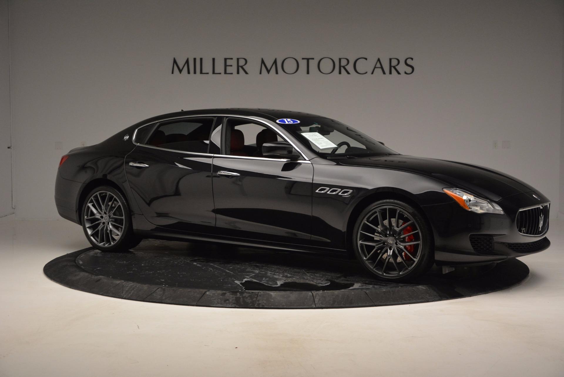 Used 2015 Maserati Quattroporte S Q4 For Sale In Greenwich, CT. Alfa Romeo of Greenwich, M1458A 809_p10