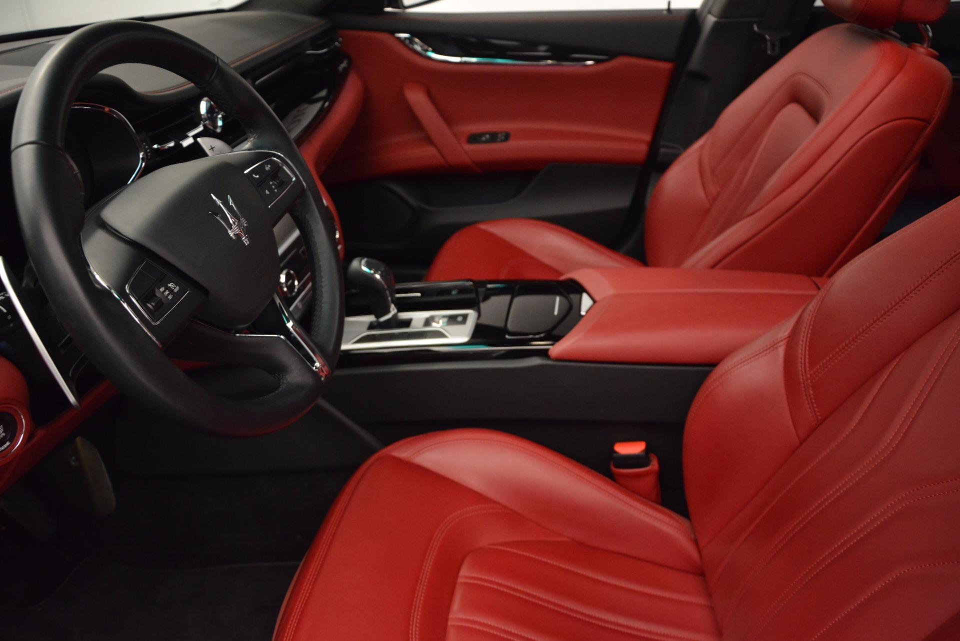 Used 2015 Maserati Quattroporte S Q4 For Sale In Greenwich, CT. Alfa Romeo of Greenwich, M1458A 809_p14