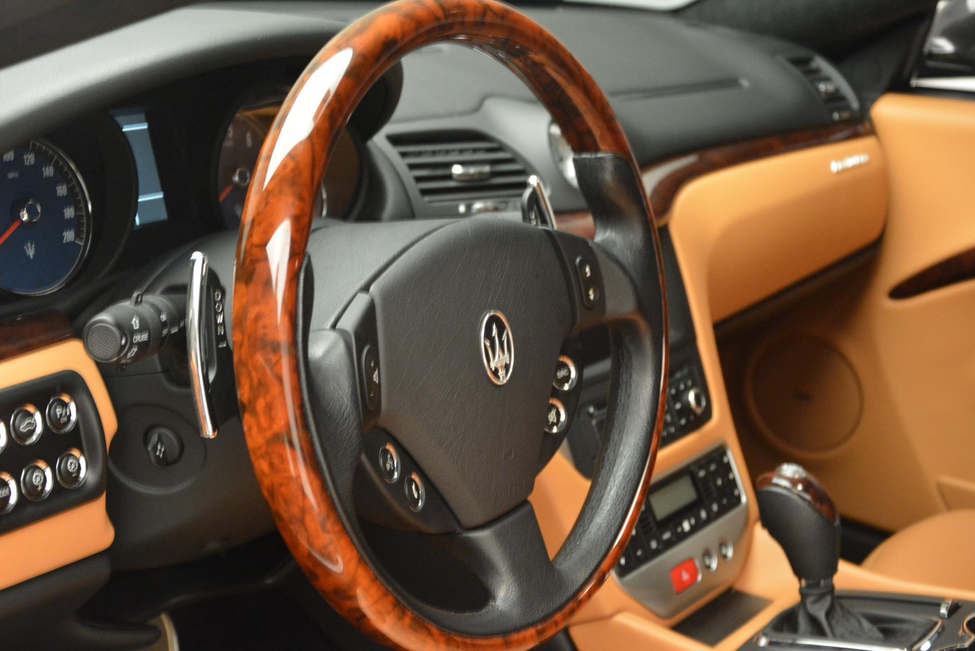 Used 2011 Maserati GranTurismo  For Sale In Greenwich, CT. Alfa Romeo of Greenwich, 7128 816_p16