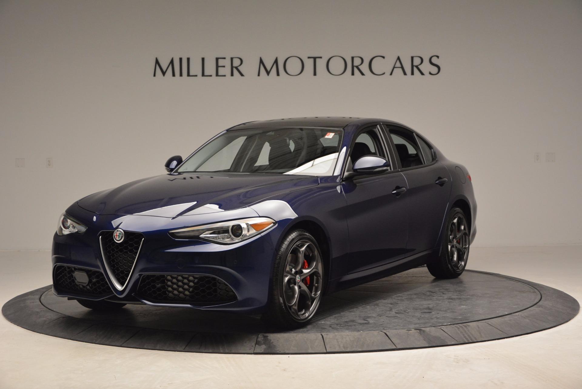 New 2017 Alfa Romeo Giulia Ti For Sale In Greenwich, CT. Alfa Romeo of Greenwich, L042 824_main