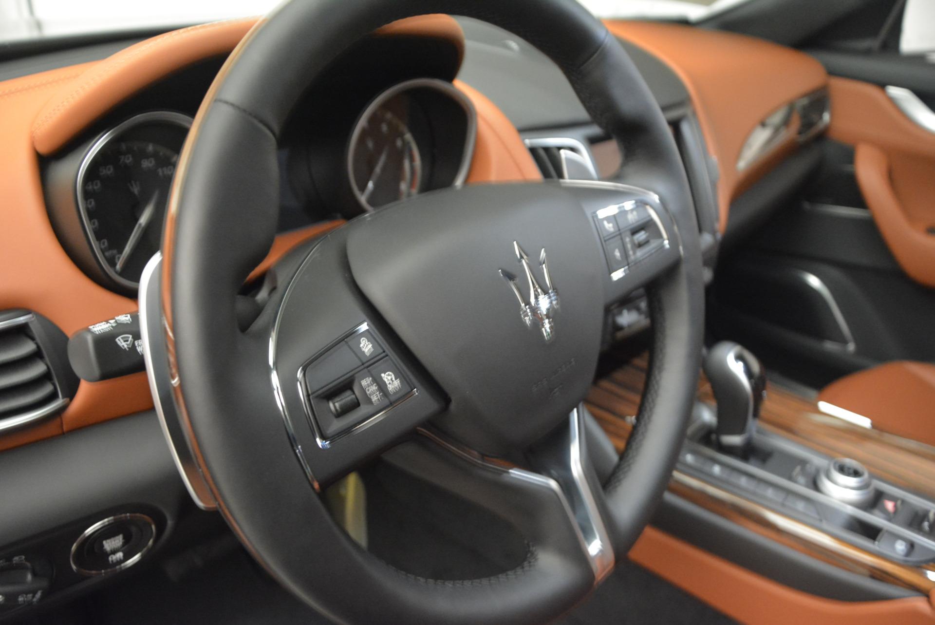 New 2017 Maserati Levante  For Sale In Greenwich, CT. Alfa Romeo of Greenwich, W369 839_p16