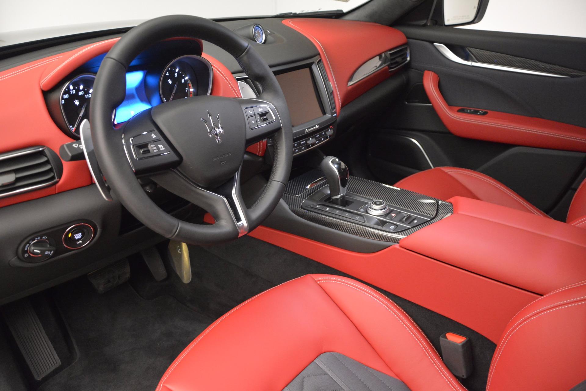 New 2017 Maserati Levante S Zegna Edition For Sale In Greenwich, CT. Alfa Romeo of Greenwich, W368 840_p13