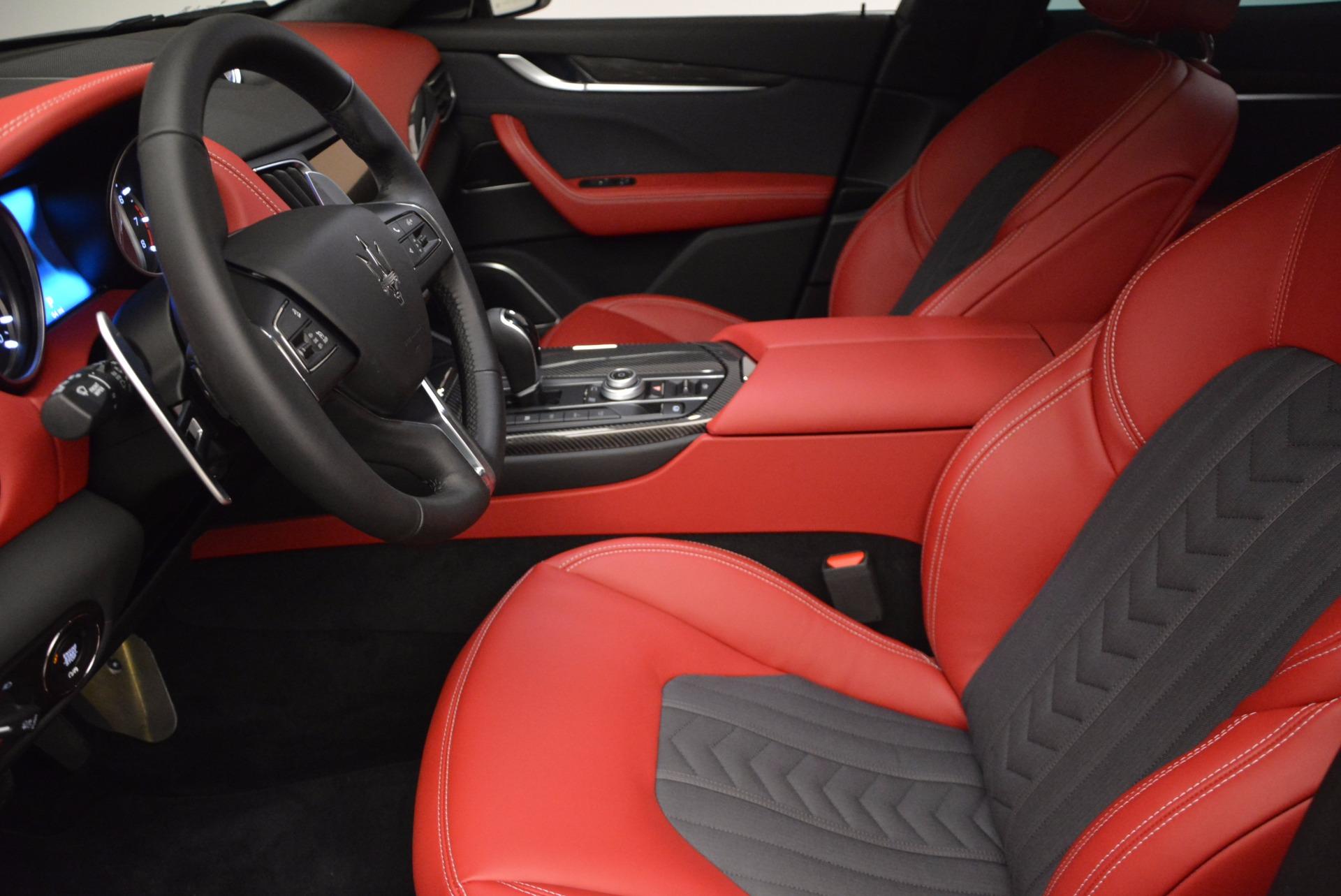 New 2017 Maserati Levante S Zegna Edition For Sale In Greenwich, CT. Alfa Romeo of Greenwich, W368 840_p14