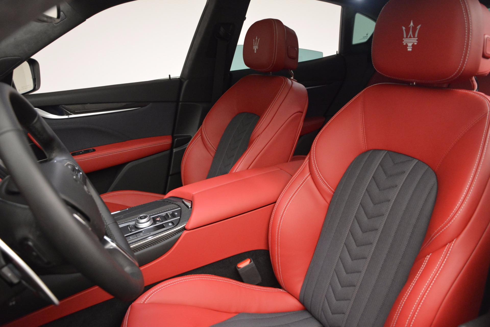 New 2017 Maserati Levante S Zegna Edition For Sale In Greenwich, CT. Alfa Romeo of Greenwich, W368 840_p16