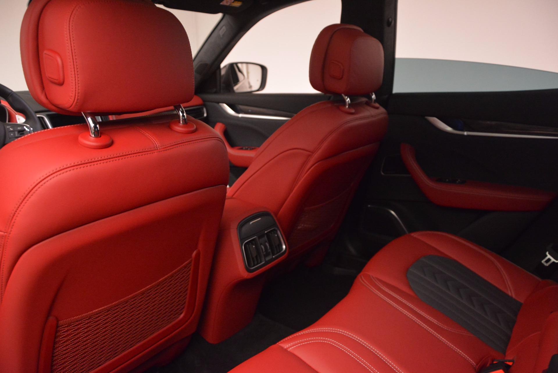 New 2017 Maserati Levante S Zegna Edition For Sale In Greenwich, CT. Alfa Romeo of Greenwich, W368 840_p21
