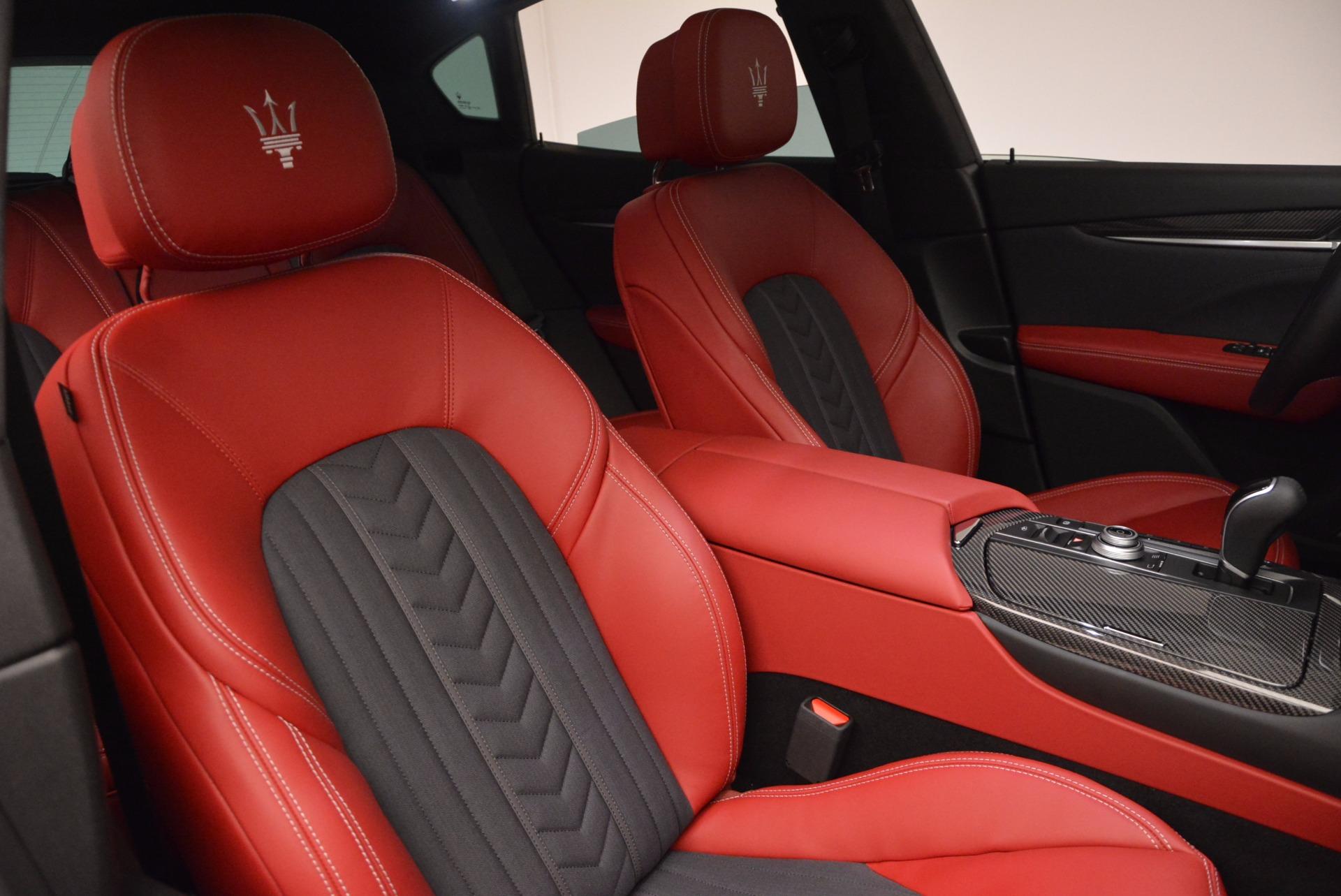 New 2017 Maserati Levante S Zegna Edition For Sale In Greenwich, CT. Alfa Romeo of Greenwich, W368 840_p25