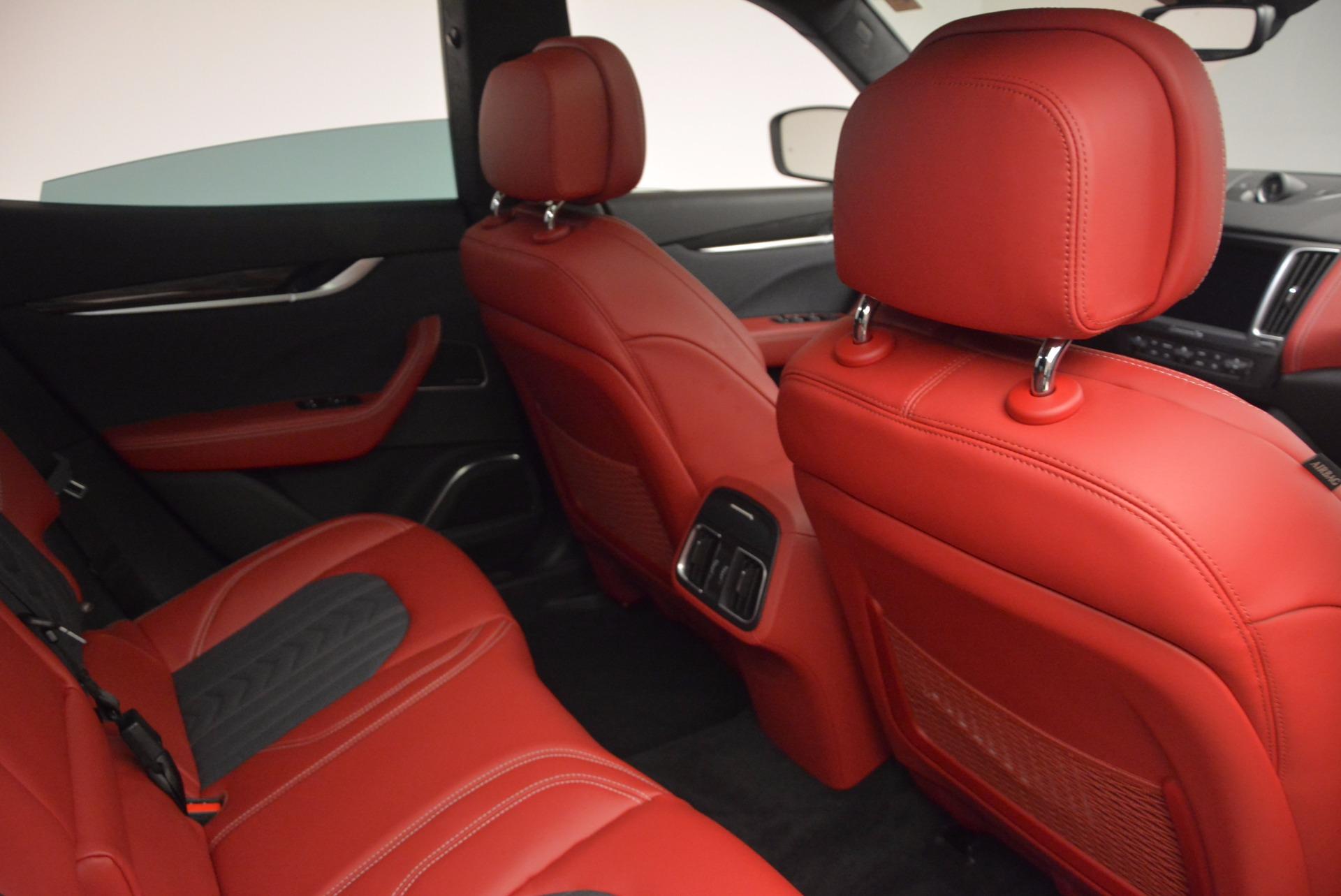 New 2017 Maserati Levante S Zegna Edition For Sale In Greenwich, CT. Alfa Romeo of Greenwich, W368 840_p29