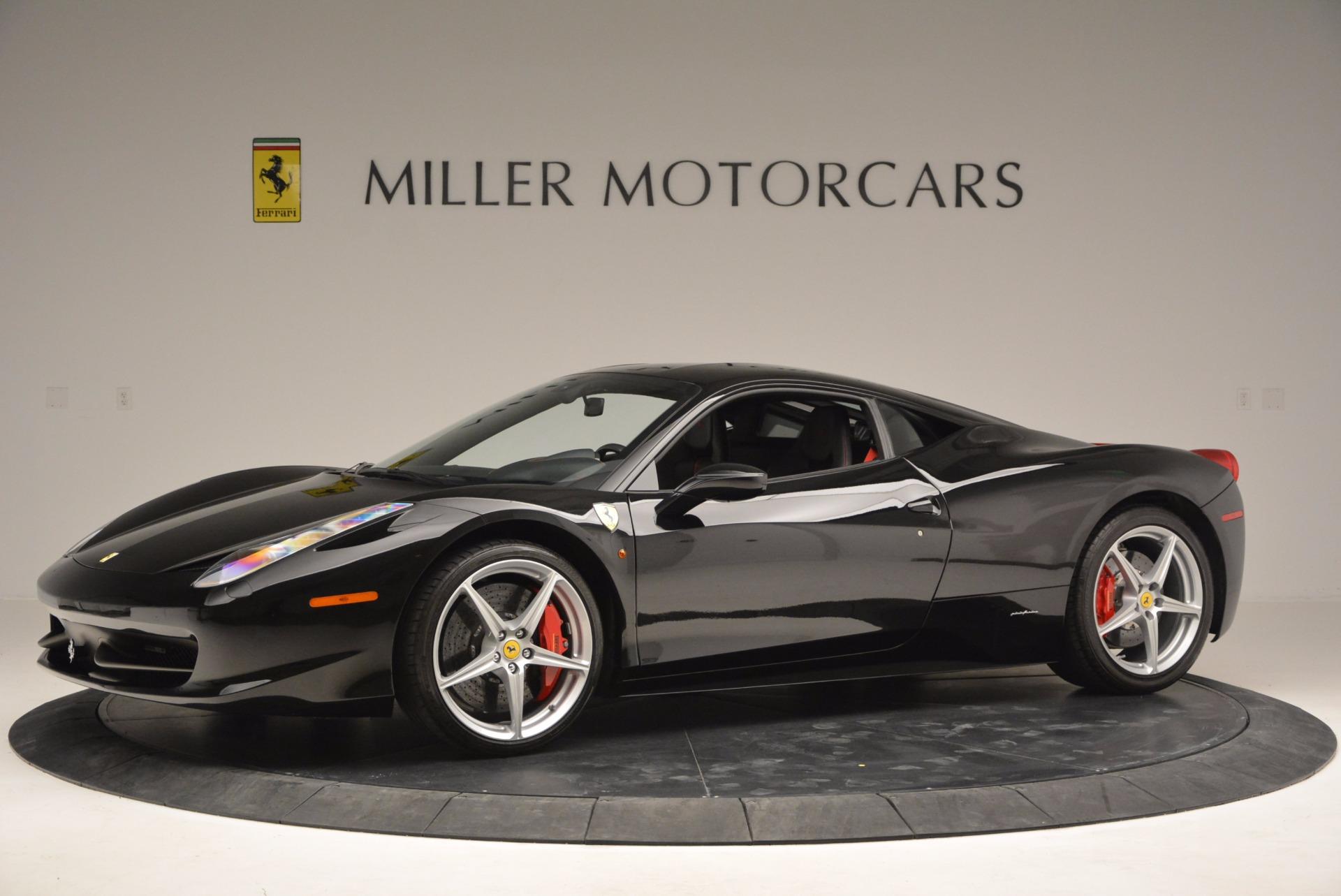 Used 2013 Ferrari 458 Italia  For Sale In Greenwich, CT. Alfa Romeo of Greenwich, 4437 889_p2