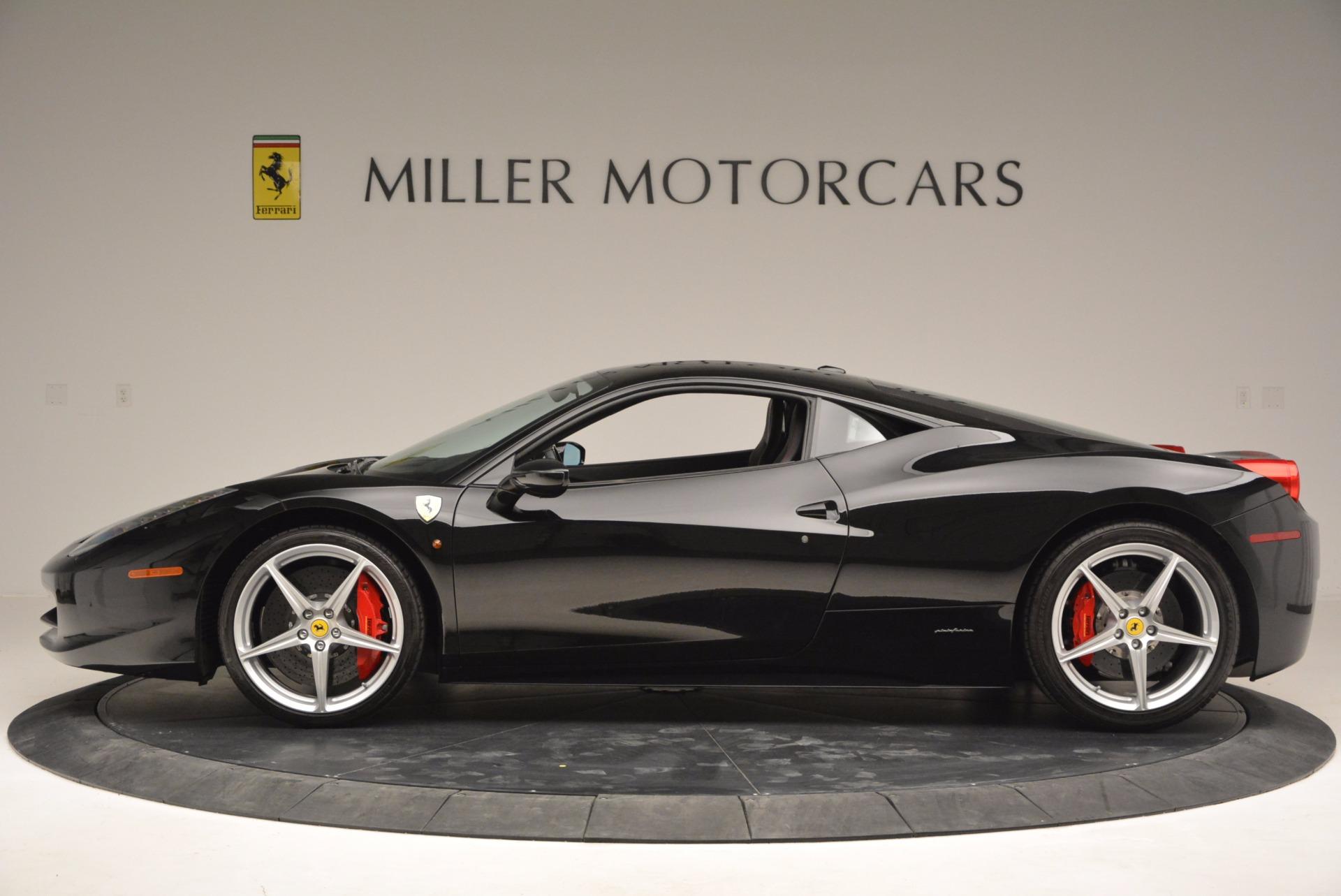 Used 2013 Ferrari 458 Italia  For Sale In Greenwich, CT. Alfa Romeo of Greenwich, 4437 889_p3