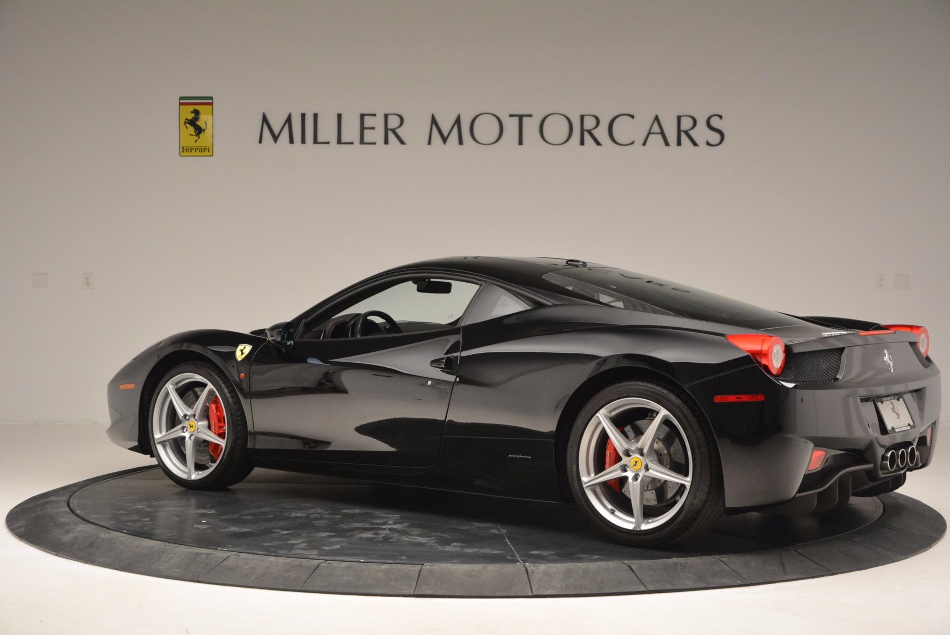 Used 2013 Ferrari 458 Italia  For Sale In Greenwich, CT. Alfa Romeo of Greenwich, 4437 889_p4