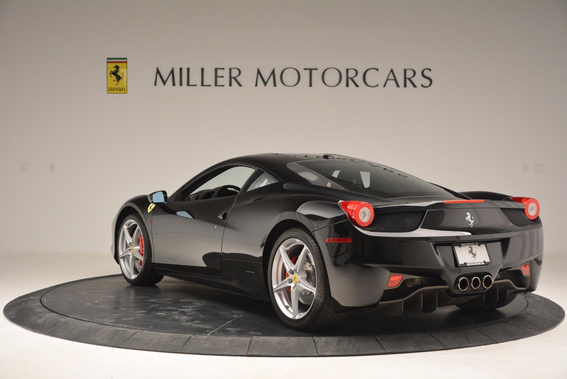Used 2013 Ferrari 458 Italia  For Sale In Greenwich, CT. Alfa Romeo of Greenwich, 4437 889_p5