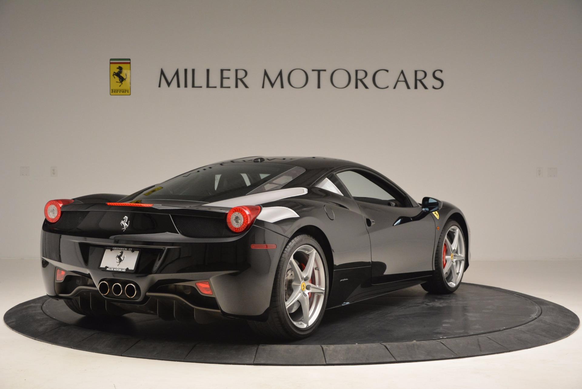 Used 2013 Ferrari 458 Italia  For Sale In Greenwich, CT. Alfa Romeo of Greenwich, 4437 889_p7