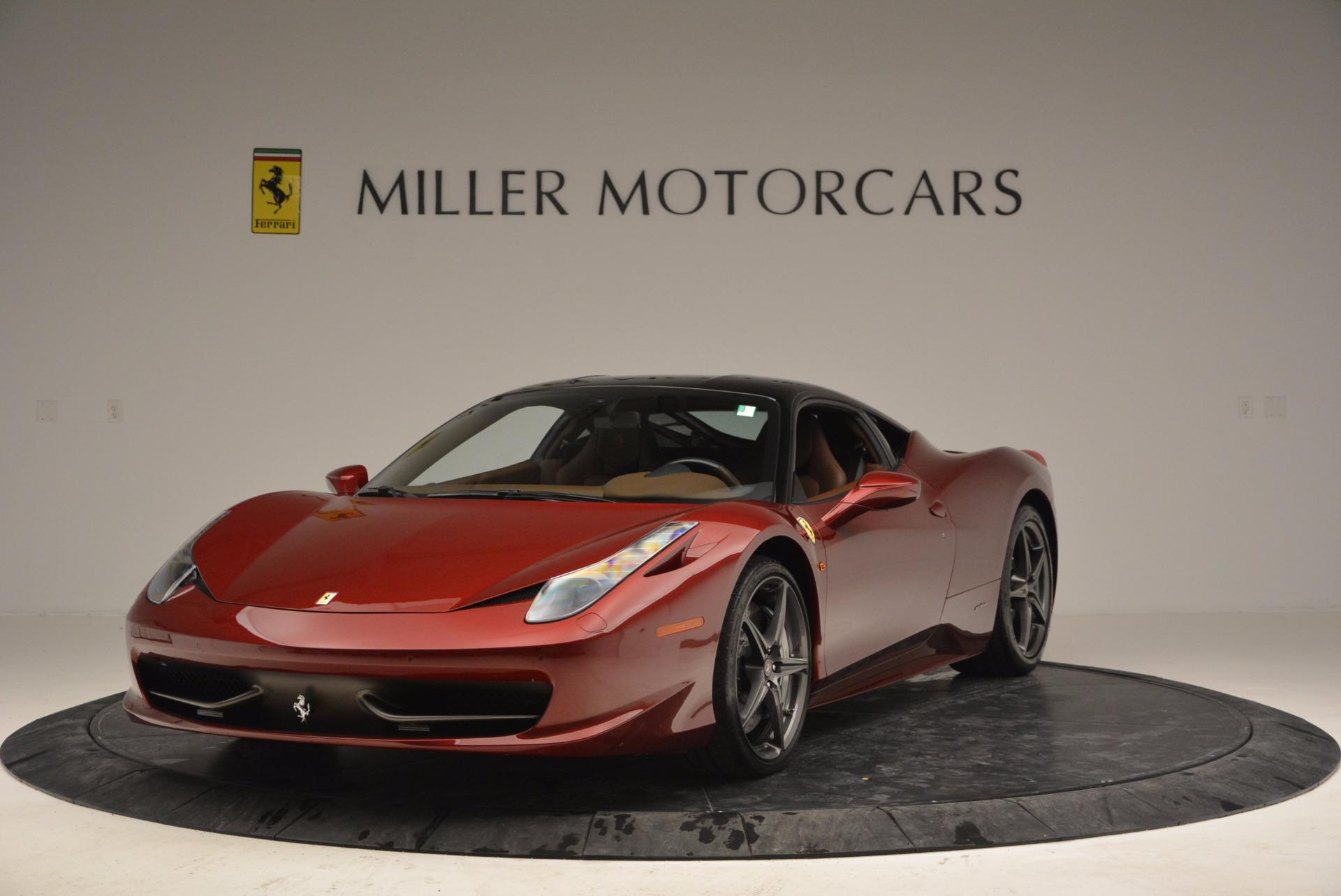 Used 2011 Ferrari 458 Italia  For Sale In Greenwich, CT. Alfa Romeo of Greenwich, 4374 899_main