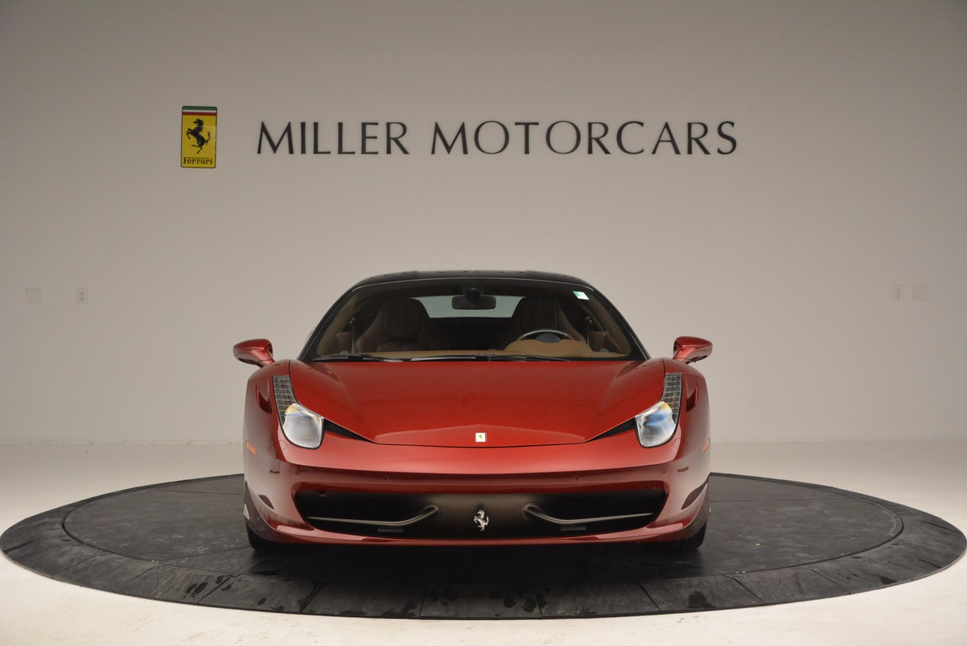 Used 2011 Ferrari 458 Italia  For Sale In Greenwich, CT. Alfa Romeo of Greenwich, 4374 899_p12