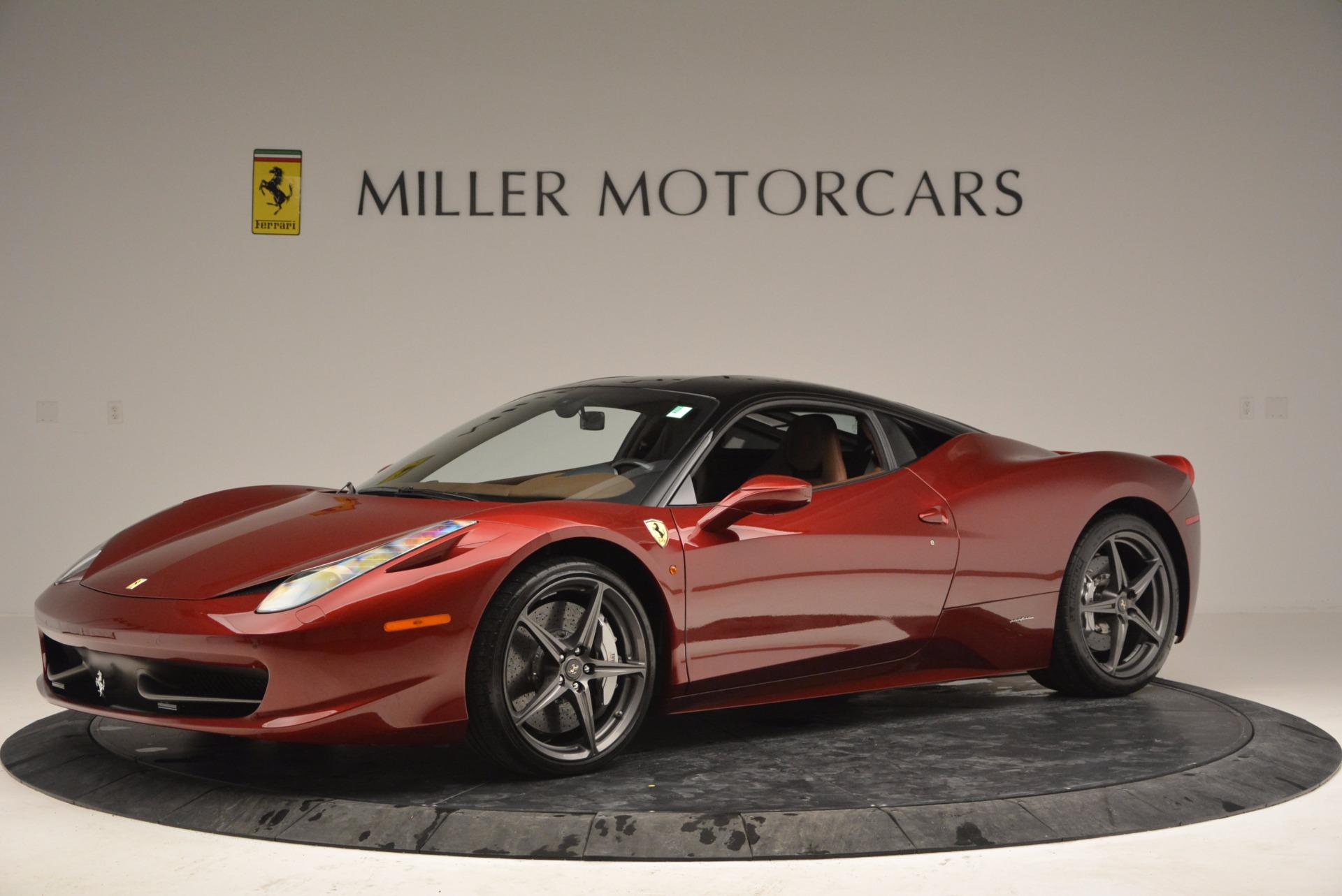 Used 2011 Ferrari 458 Italia  For Sale In Greenwich, CT. Alfa Romeo of Greenwich, 4374 899_p2